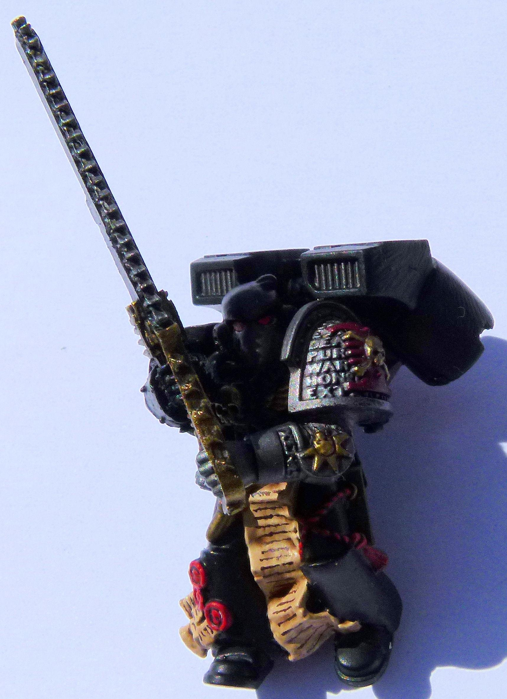 Deathwatch Black Guard Front