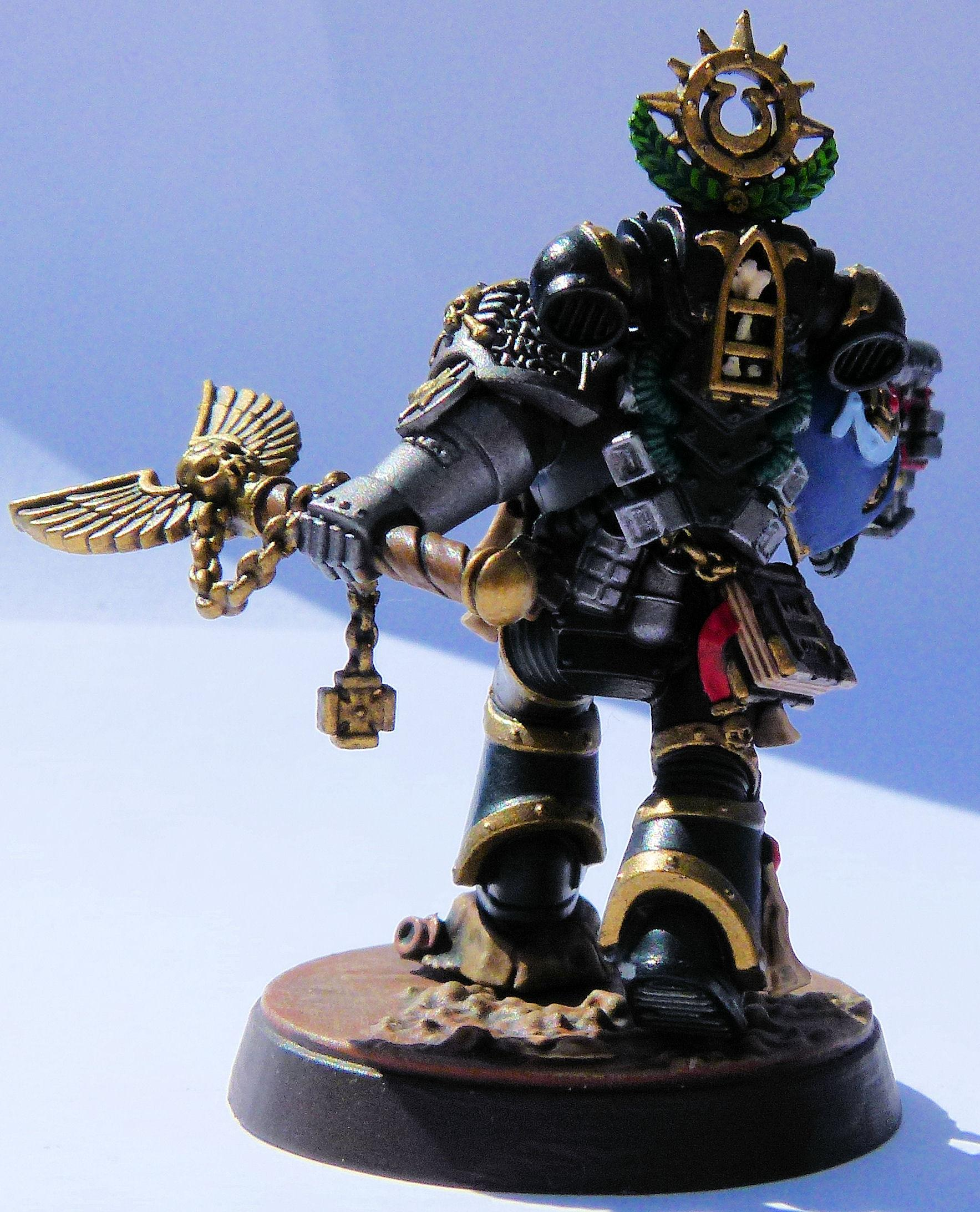 Deathwatch Chaplain Cassius Rear