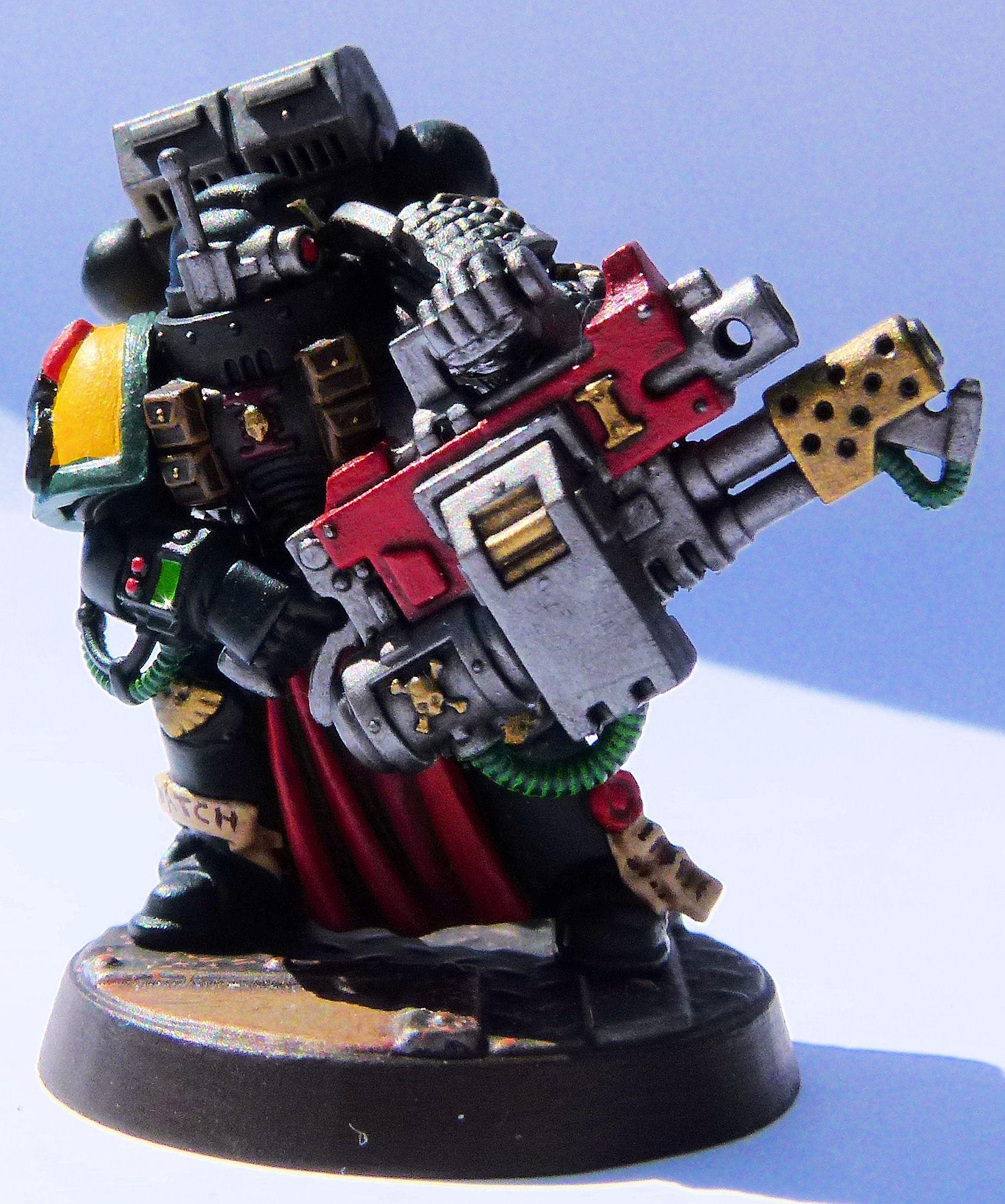 Deathwatch Mantis Warrior Front