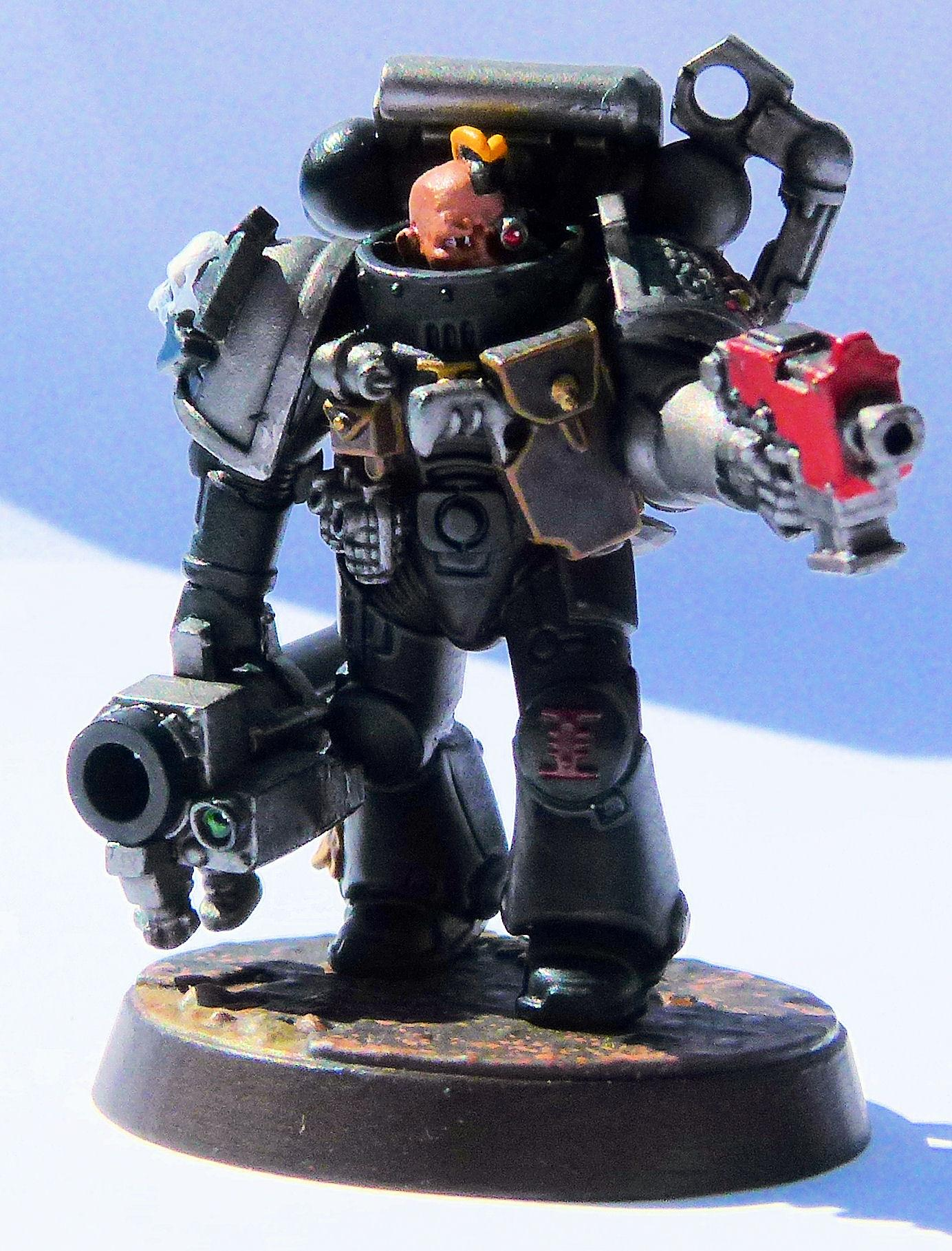 Deathwatch Iron Champions Front