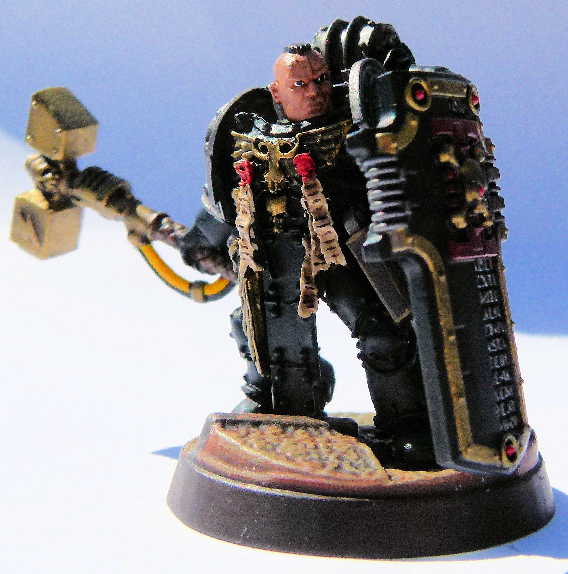 Deathwatch Black Shield Front