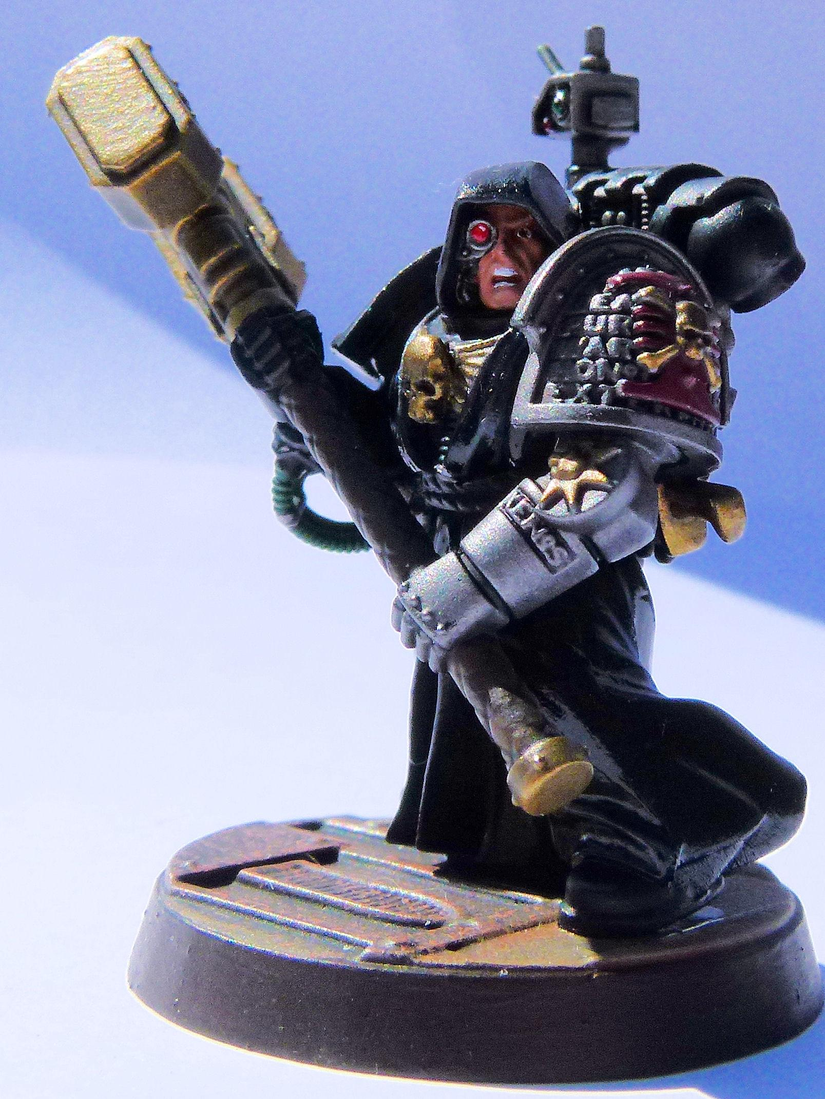 Deathwatch Disciples of Caliban Front