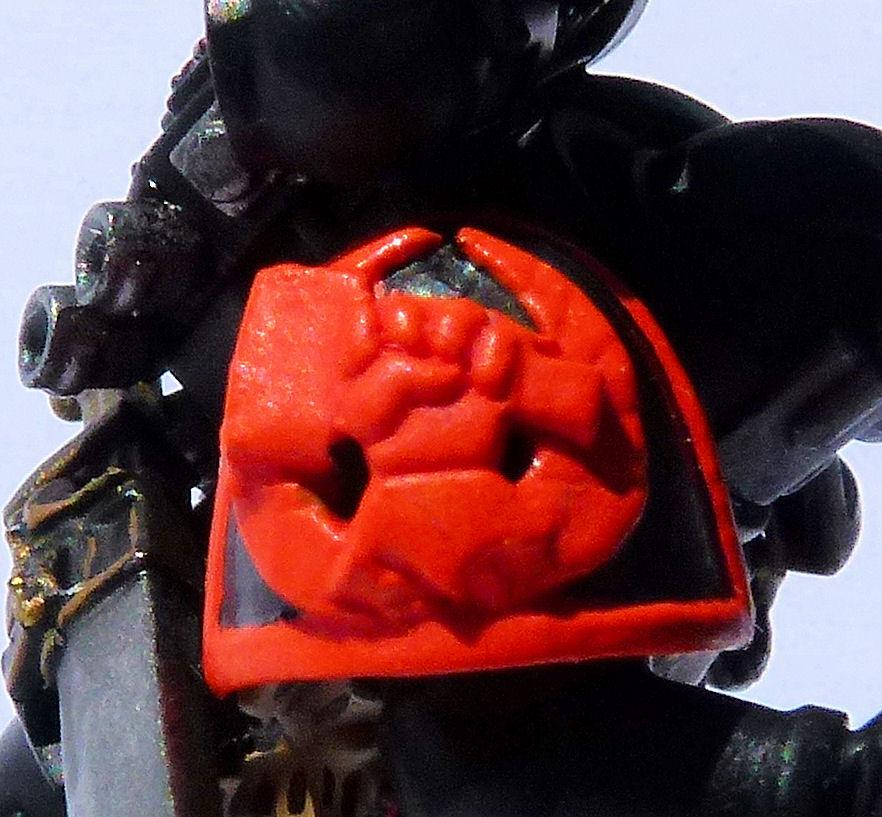Deathwatch Hammers of Dorn Chapter Badge