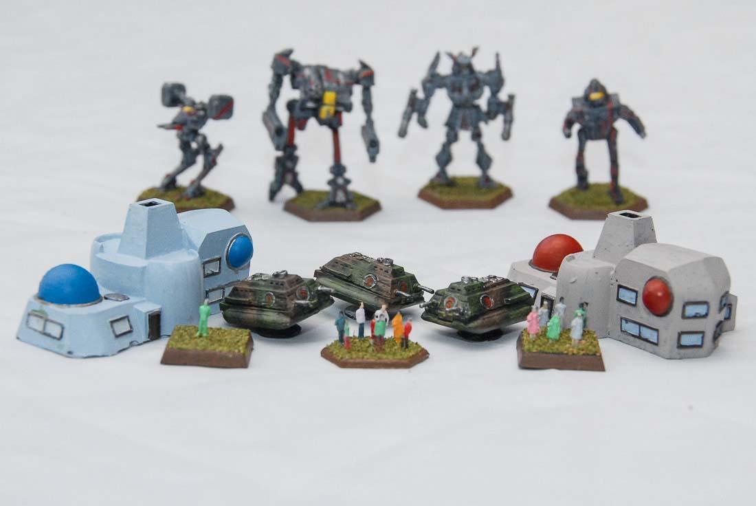 Battletech, Inner Sphere, Mech, Objective Marker