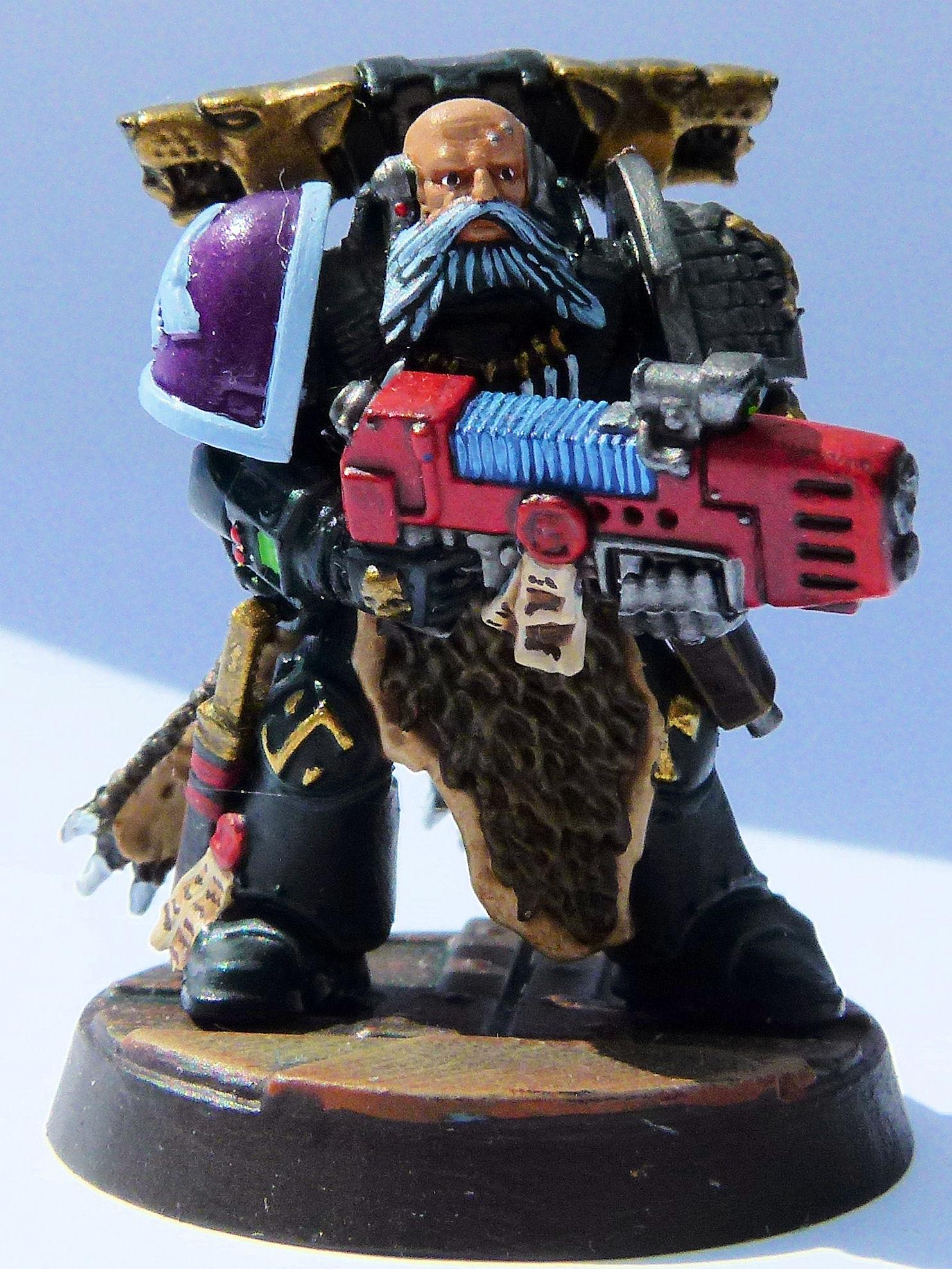 Deathwatch Shadow Wolves Front