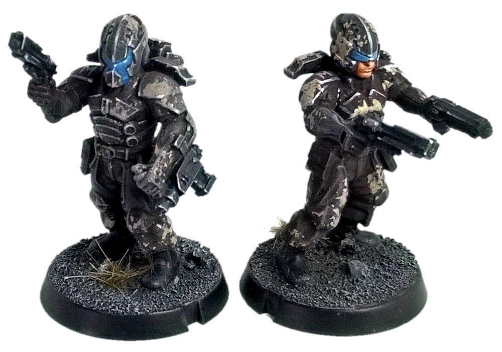 Horizon Wars, Infantry, Maelstroms Edge, Medge, Omega, Precinct, Scifi, Zero Dark