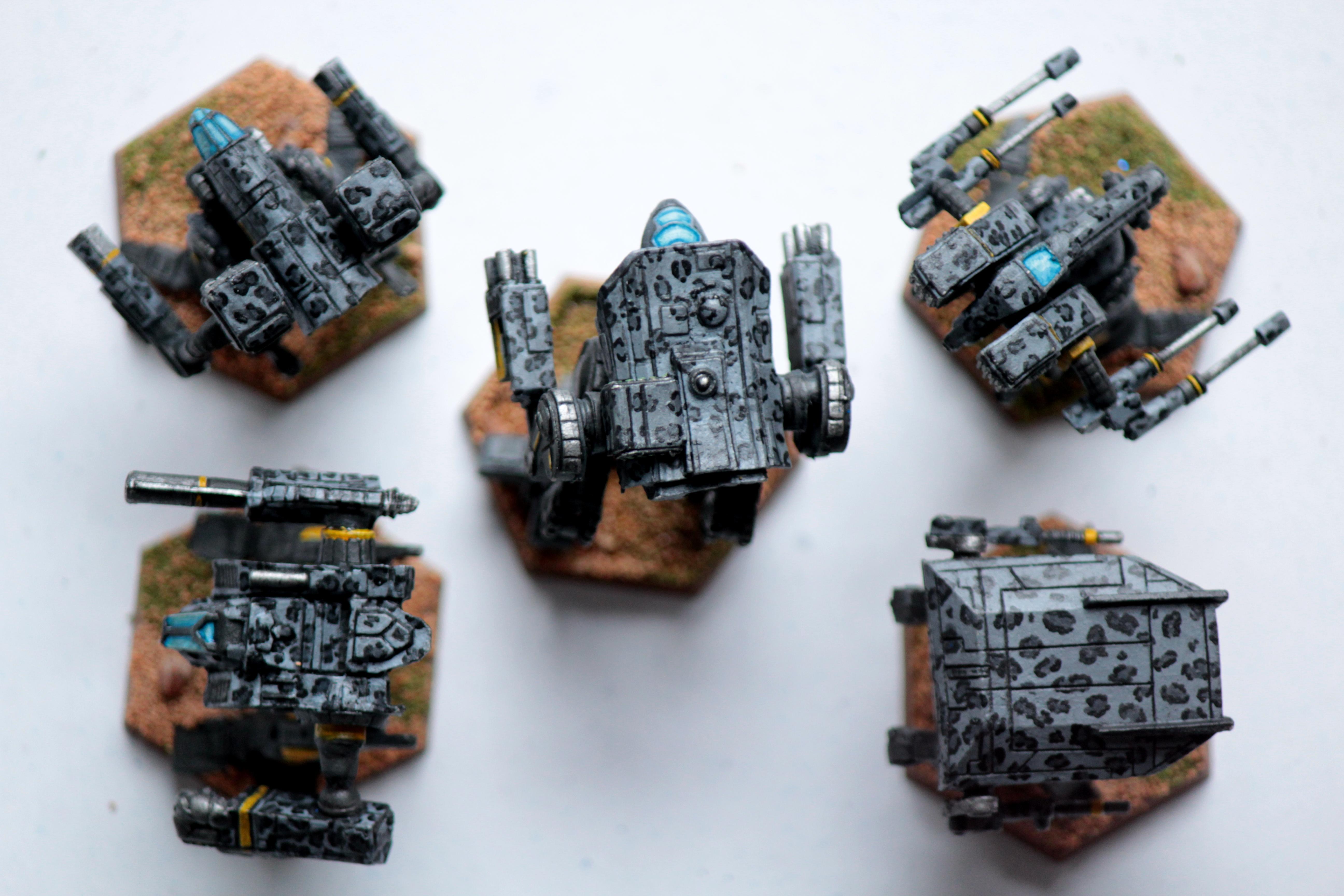 Battletech, Clan Mechs, Inner Sphere, Mech, Objective Marker, Omnimech, Smoke Jaguar