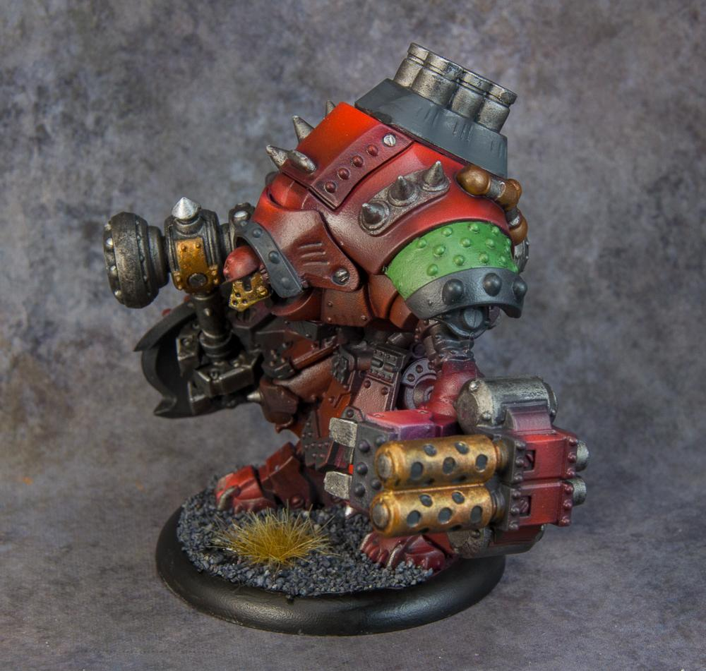 Grolar, Khador, Privateer Press, Warjack