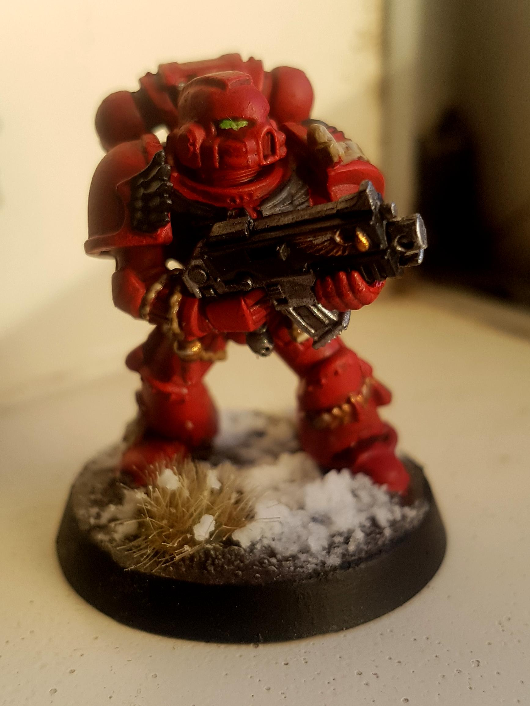 Angel, Blood, Bolter, First, Red, Space, Space Marines