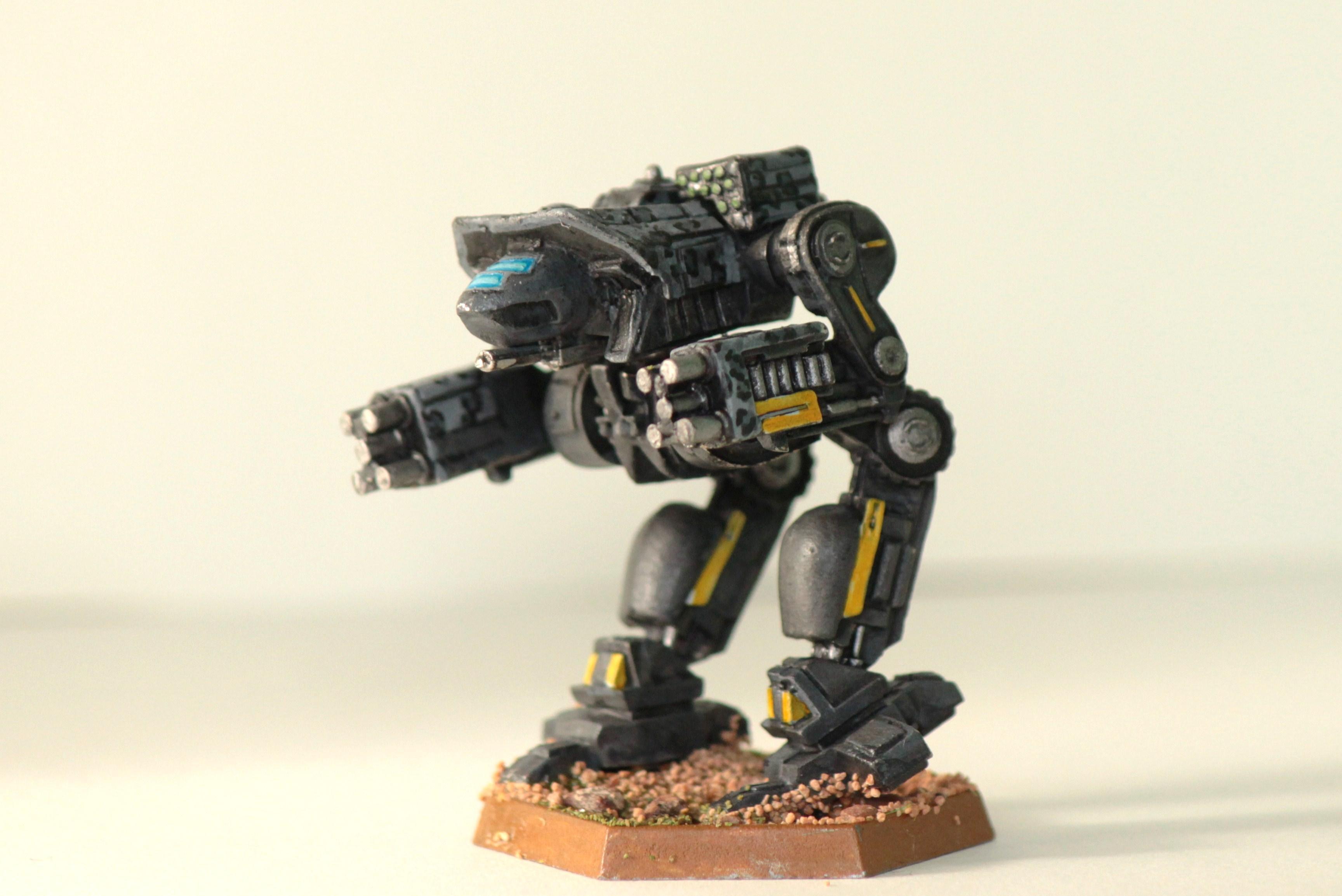 Battletech, Clan Smoke Jaguar, Inner Sphere, Mech, Objective Marker, Omnimech