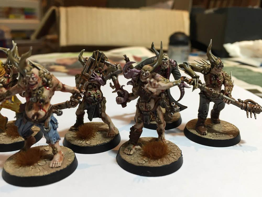Chaos, Cracked Base, Death Guard, Nurgle, Pox Walkers, Warhammer 40,000