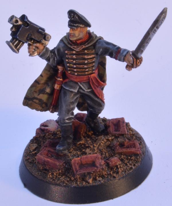 Commissar, Gaunt, Gaunts Ghosts, Tanith