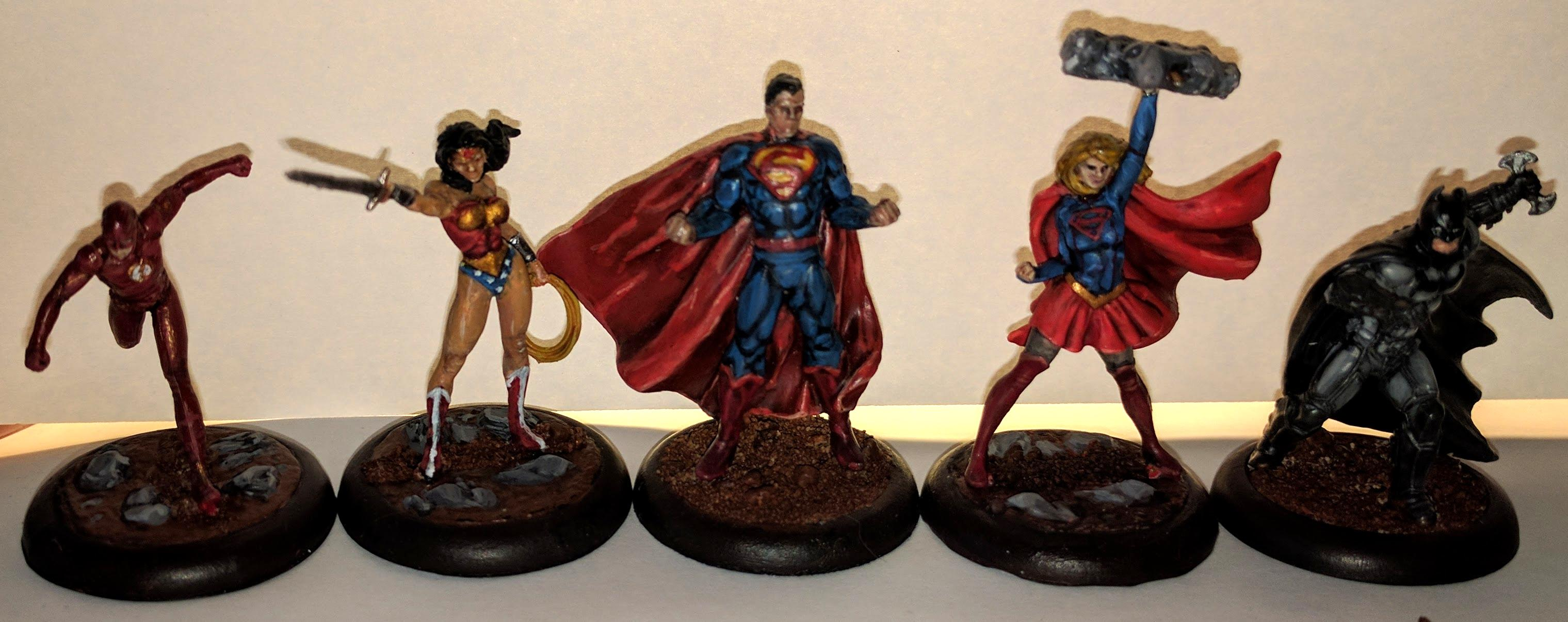 Batman, Dc Universe, Dcu, Flarrow, Jla, Jlu, Justice League, Supergirl, Superhero, Superman, Wonder Woman