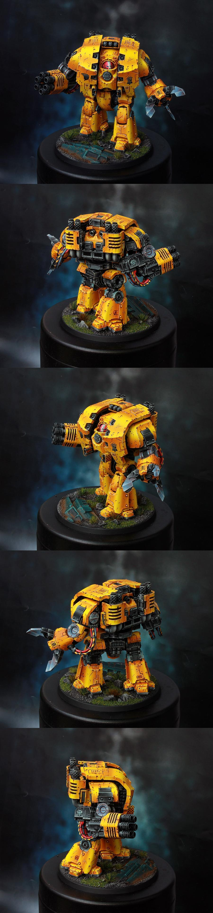 Dreadnought, Hendarion, Leviathan, Space Marines