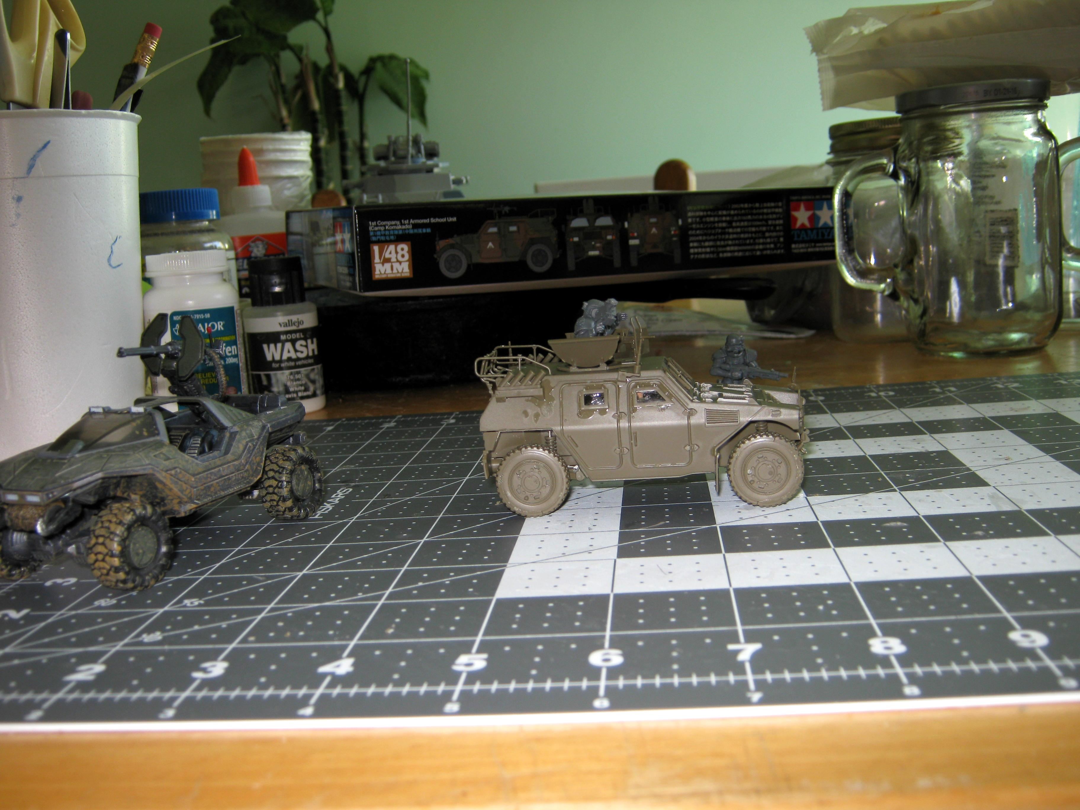Armored Car, Conversion, Counts As, High Mobility Vehicle, Ifv, Imperial, Japanese, Jeep, Komatsu, Lav, Light Armored Vehicle, Tamiya
