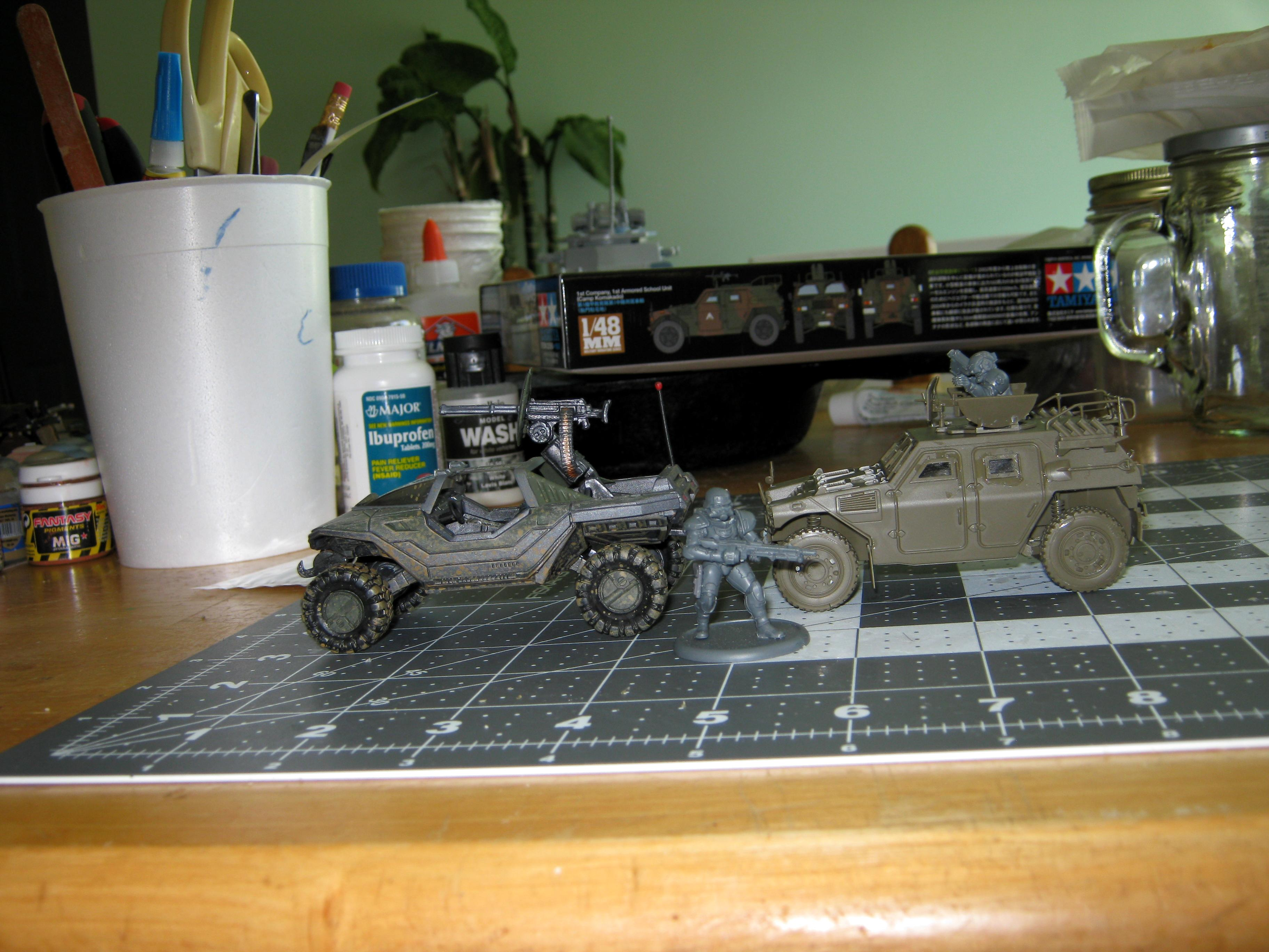 Armored Car, Conversion, Counts As, Dreamforge Games, Eisenkern, Halo, High Mobility Vehicle, Ifv, Imperial, Iron Core, Japanese, Jeep, Komatsu, Lav, Light Armored Vehicle, Stormtrooper, Tamiya, Warthog