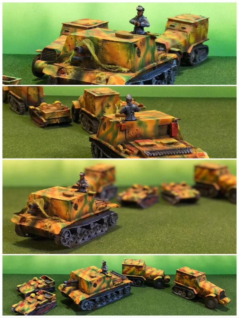 Airbrushed, Camouflage, Eastern Front, Flames Of War, Germans