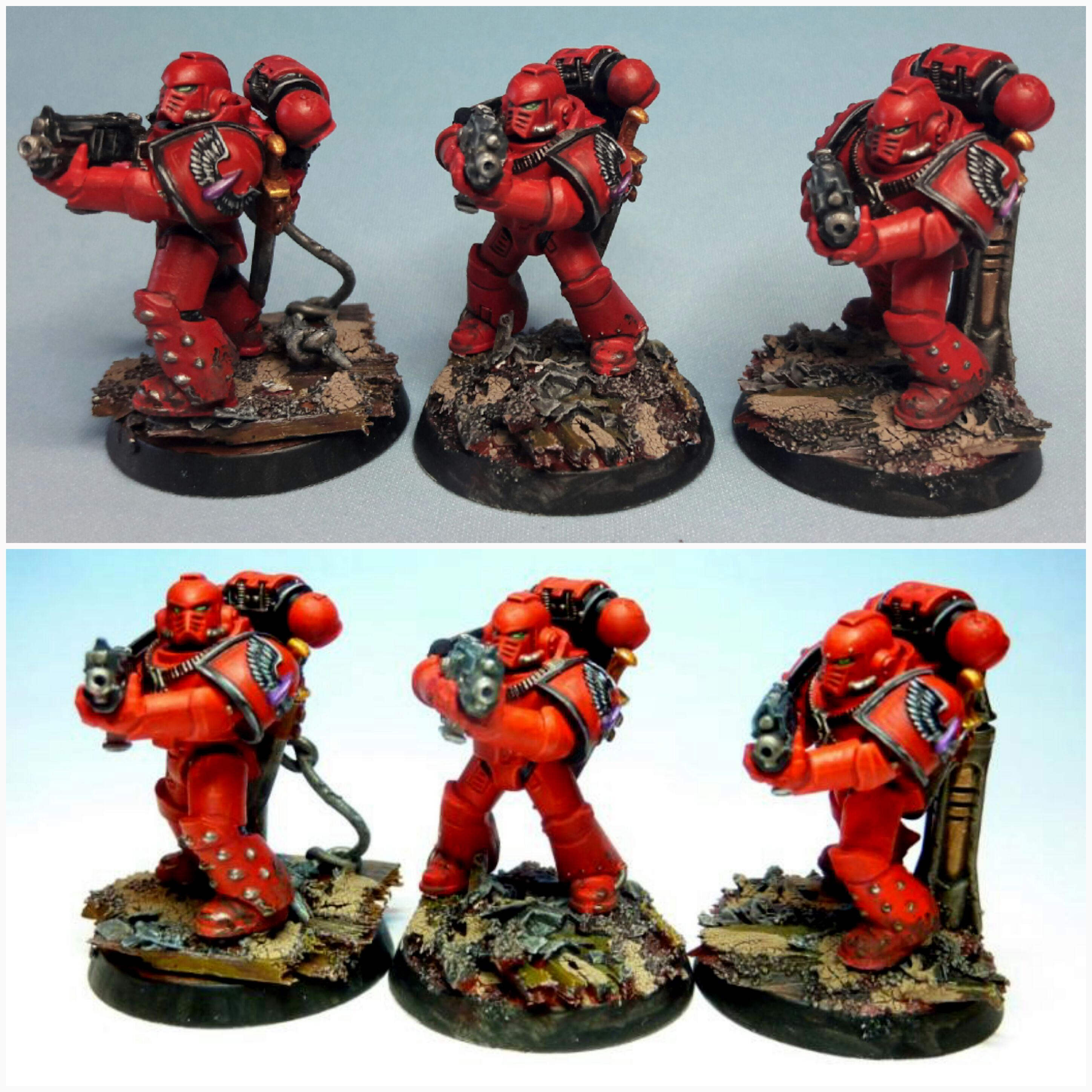 30k, Blood Angels, Horus Heresy, Tac Marines, Tactical Squad