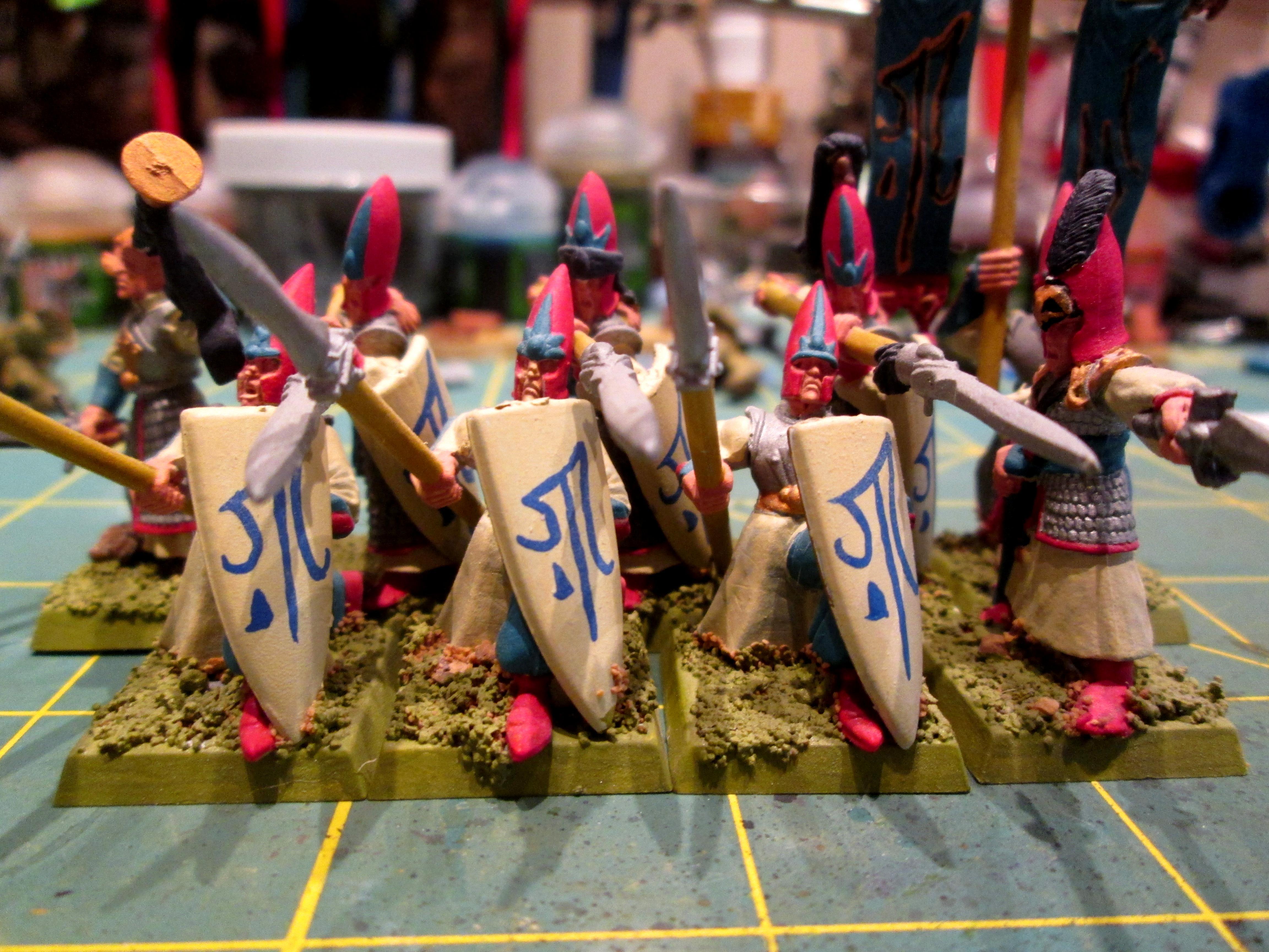 Bowmen, Harathoi, High Elves, Lothern, Seaguard, Spearmen, Wfb