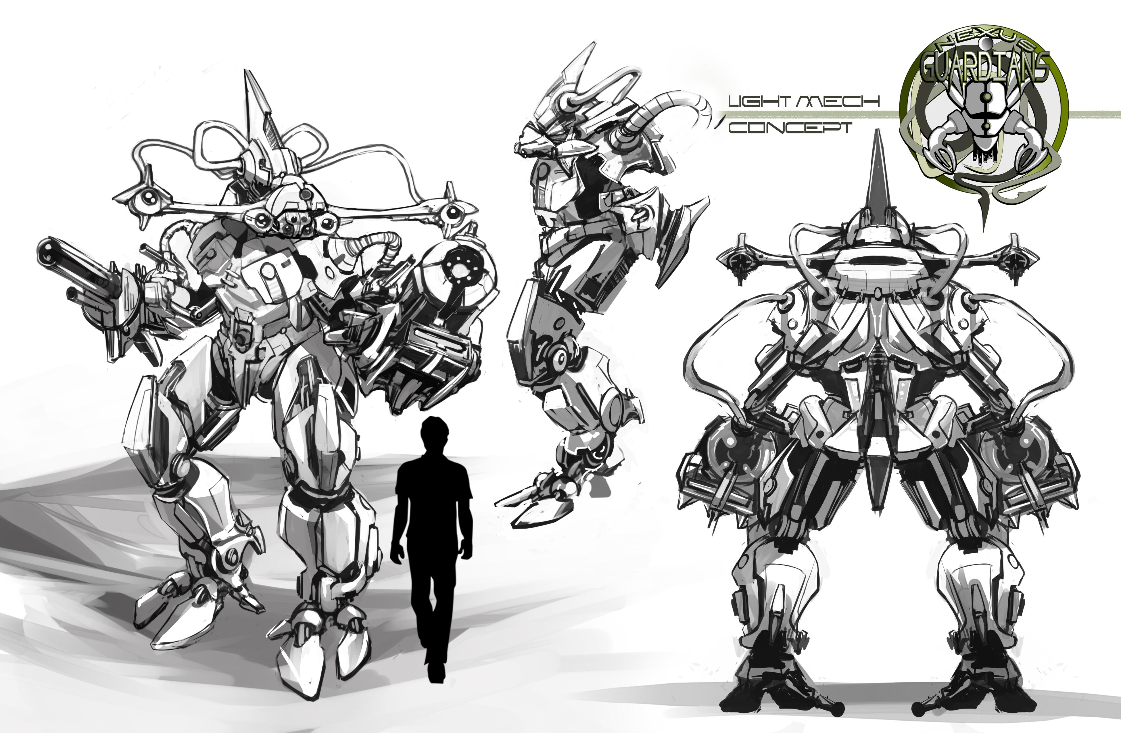 Nexus Guardians Light Mech