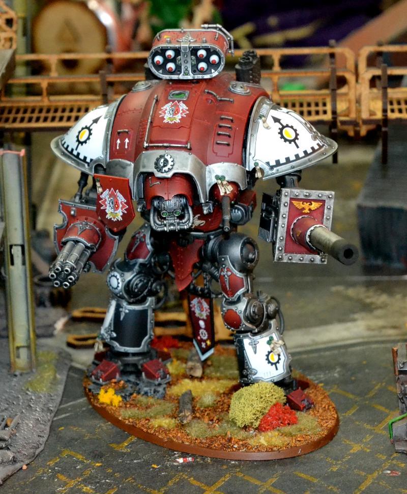 Imperial Knight, Knight Crusader, Warhammer 40,000