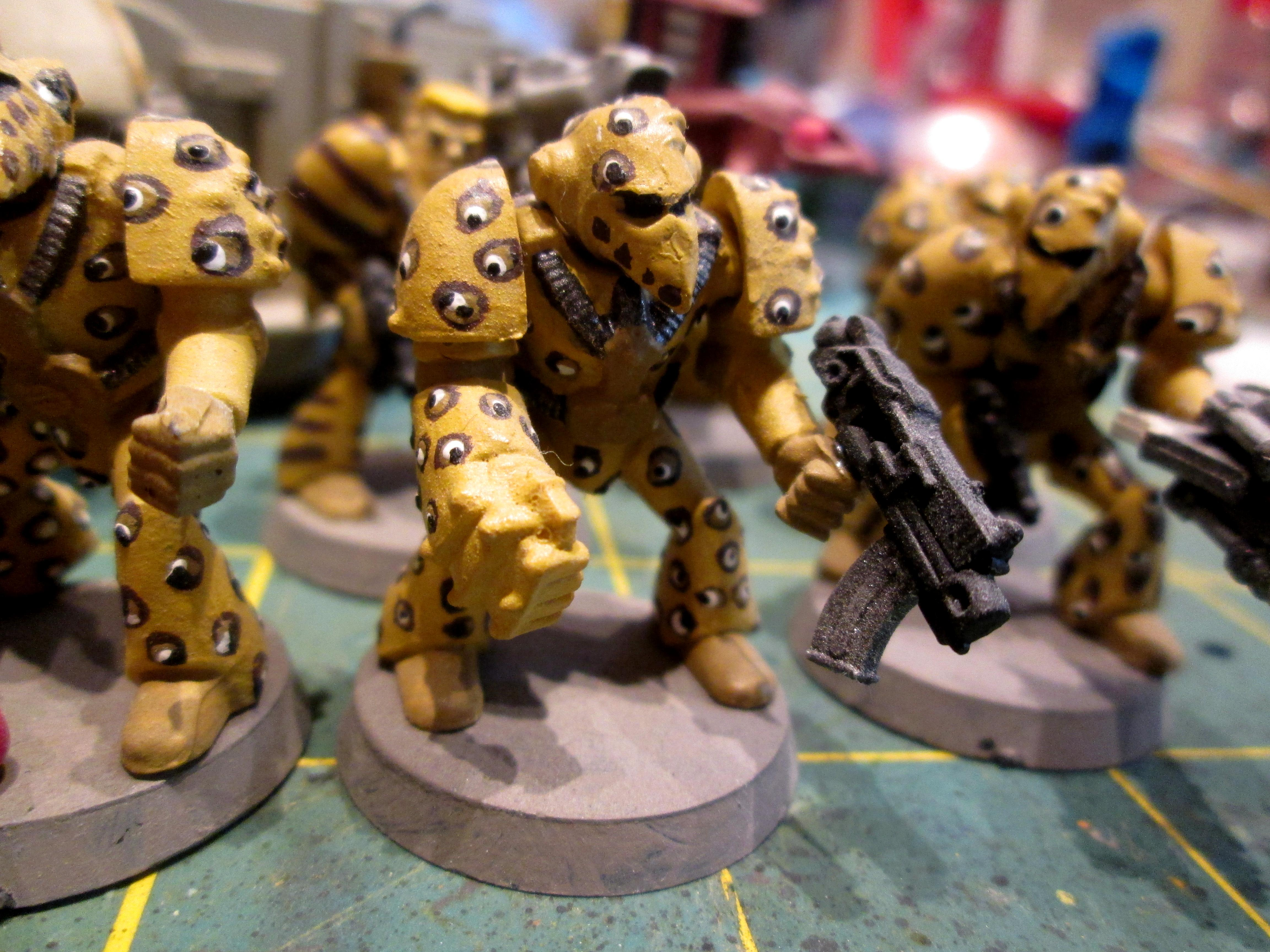 Beakies, Imperial Guard, Rogue Trader, Space Marines, Warhammer 40,000
