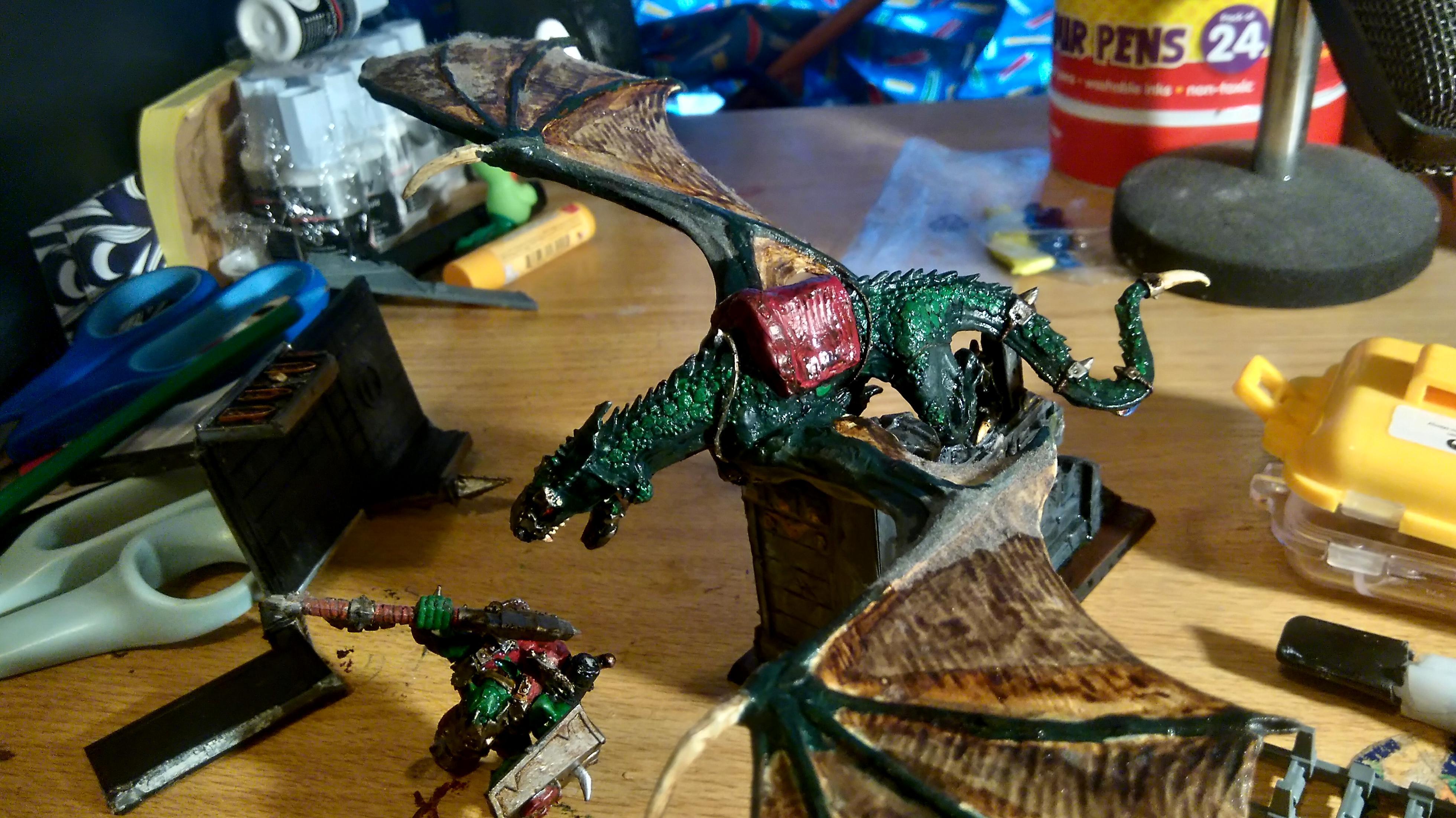 Black Orc, Warboss, Wyvern