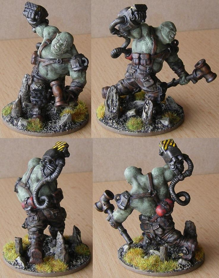Super Mutant with Power Fist