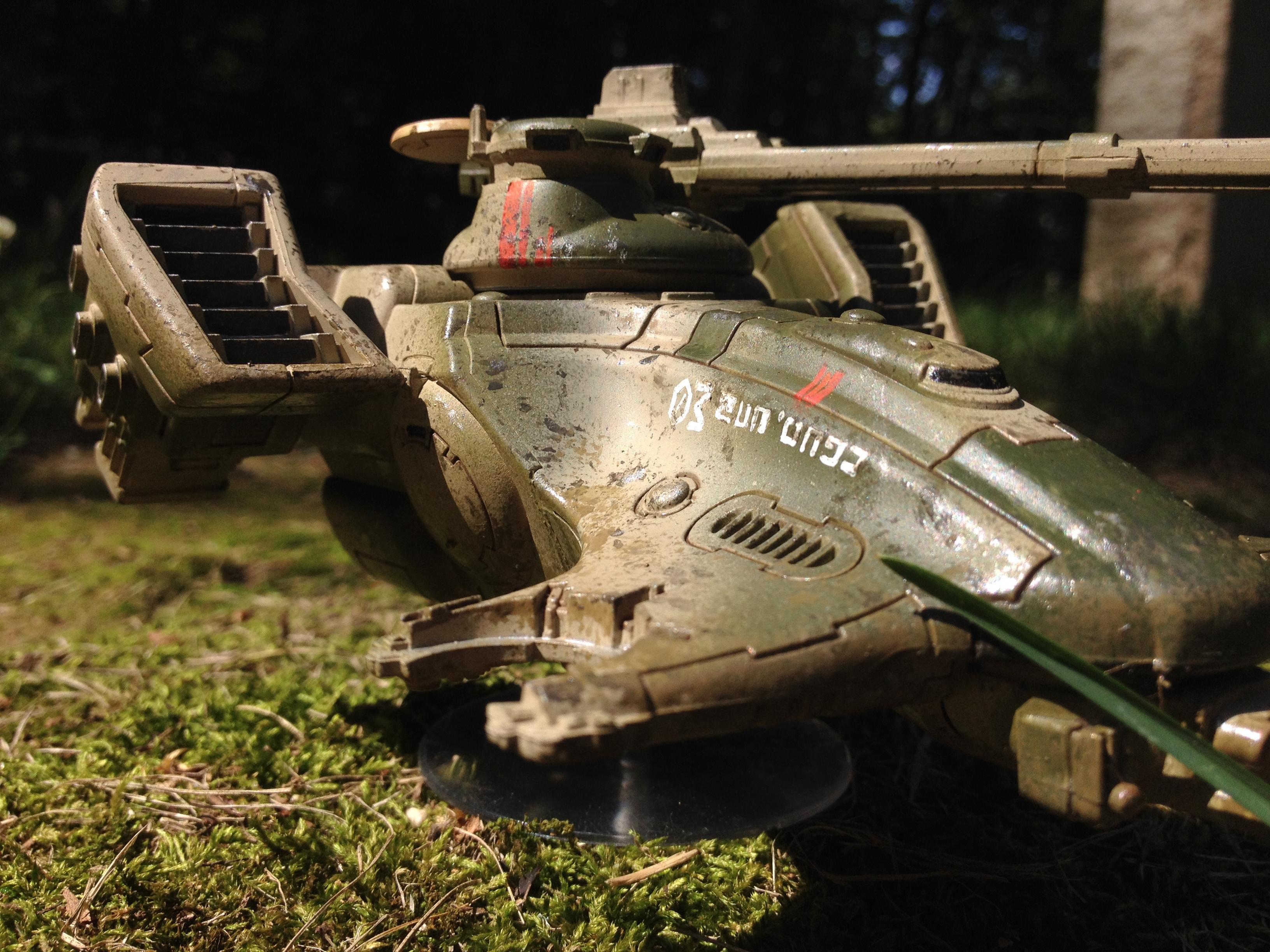Camouflage, Damaged, Gue'vesa, Hammerhead, T'au, Tank, Tau, Warhammer 40,000