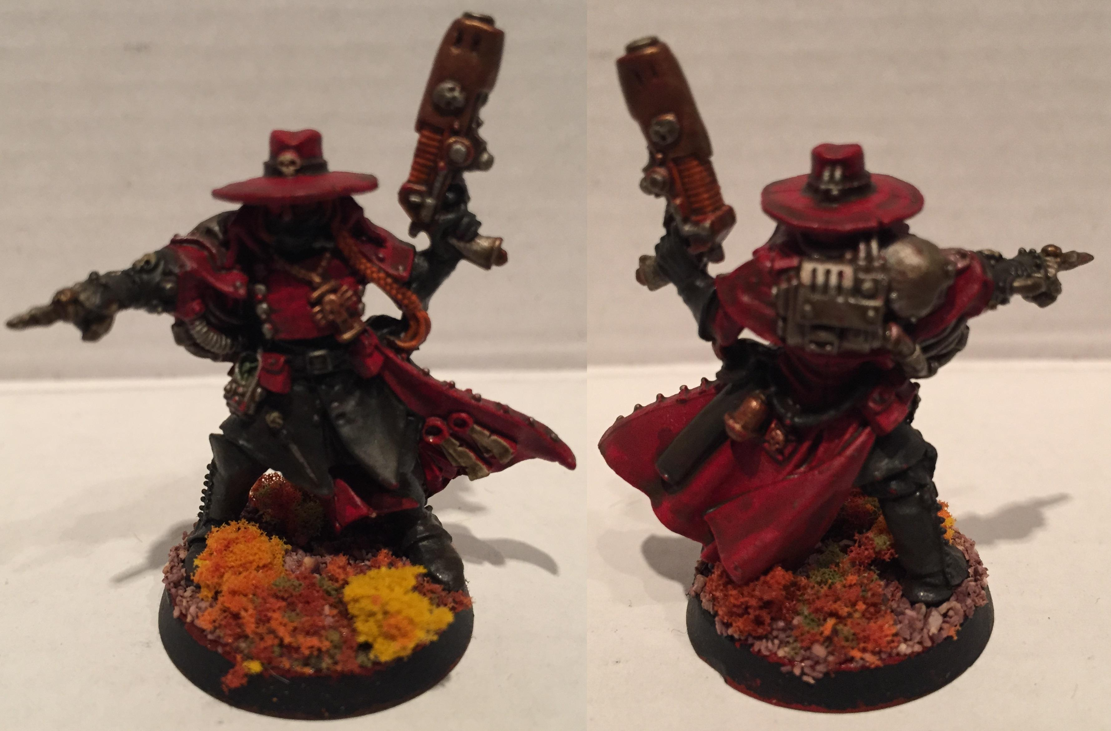 Dipped, Inquisition, Inquisitor, Ordo Xenos, Petrifications, Warhammer 40,000, Washed