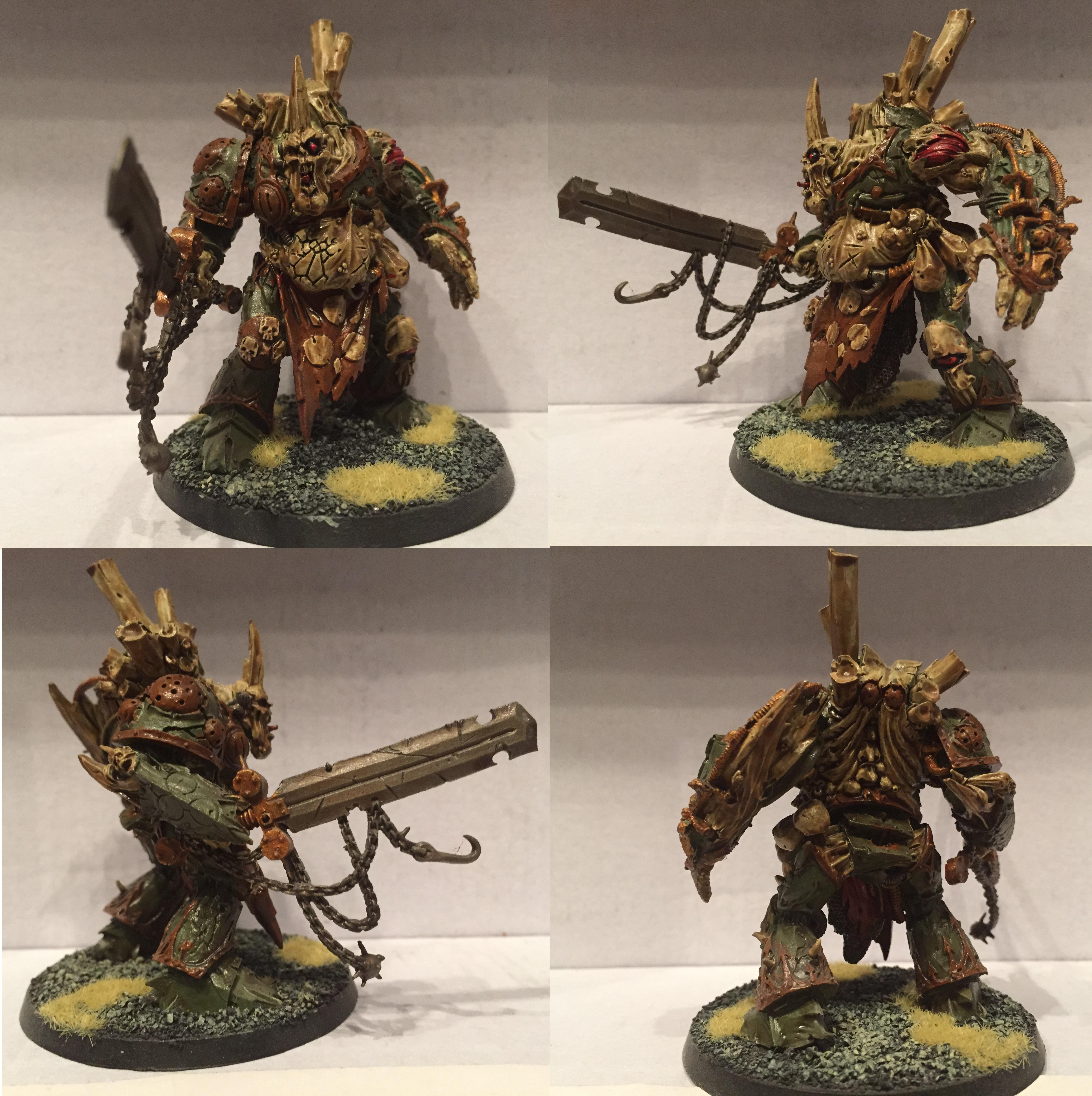 Chaos, Chaos Space Marines, Daemons, Dipped, Nurgle, Petrifications, Warhammer 40,000