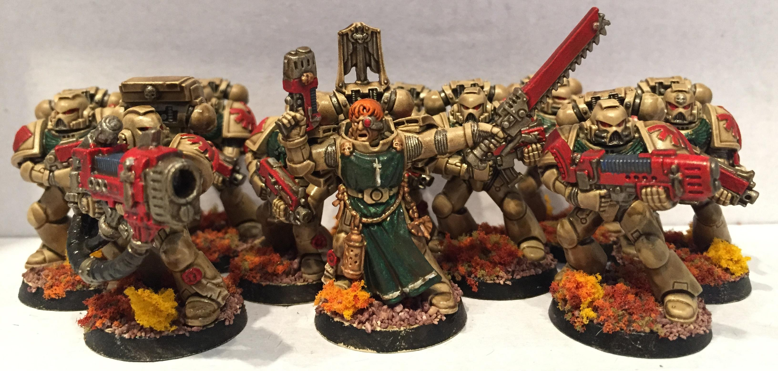 Dark Angels, Deathwing, Dipped, Petrifications, Space Marines, Warhammer 40,000