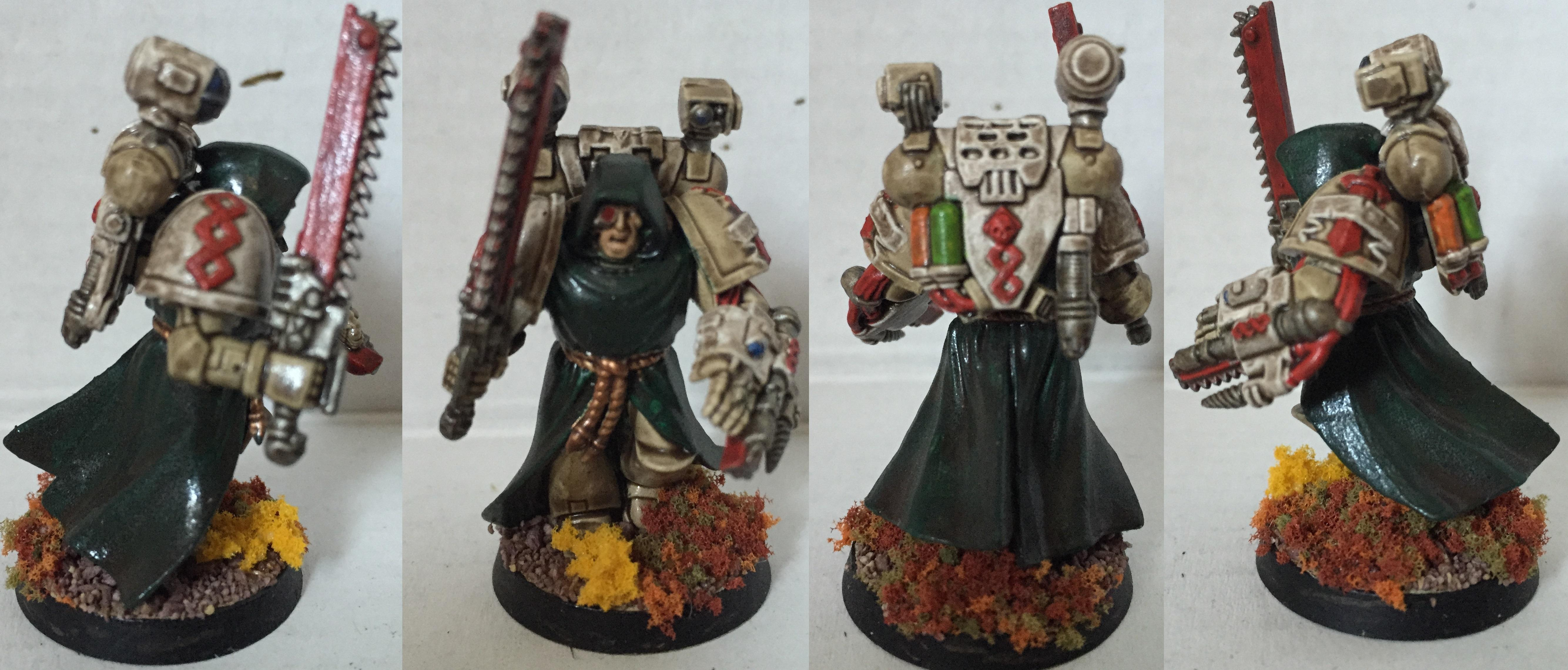 Apothecary, Dark Angels, Deathwing, Dipped, Petrifications, Space Marines, Warhammer 40,000