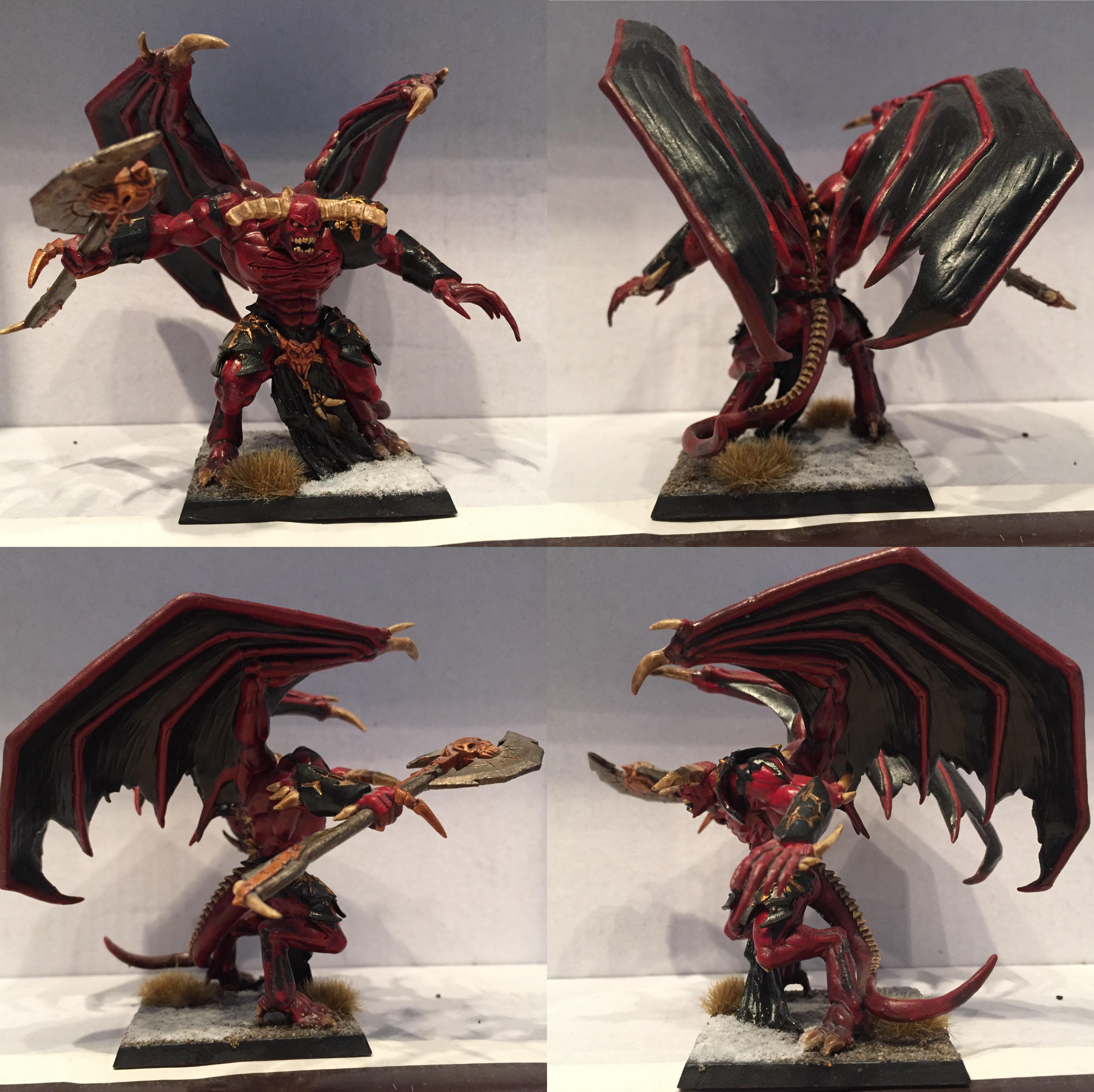 Chaos, Daemons, Dipped, Khorne, Petrifications, Warhammer Fantasy