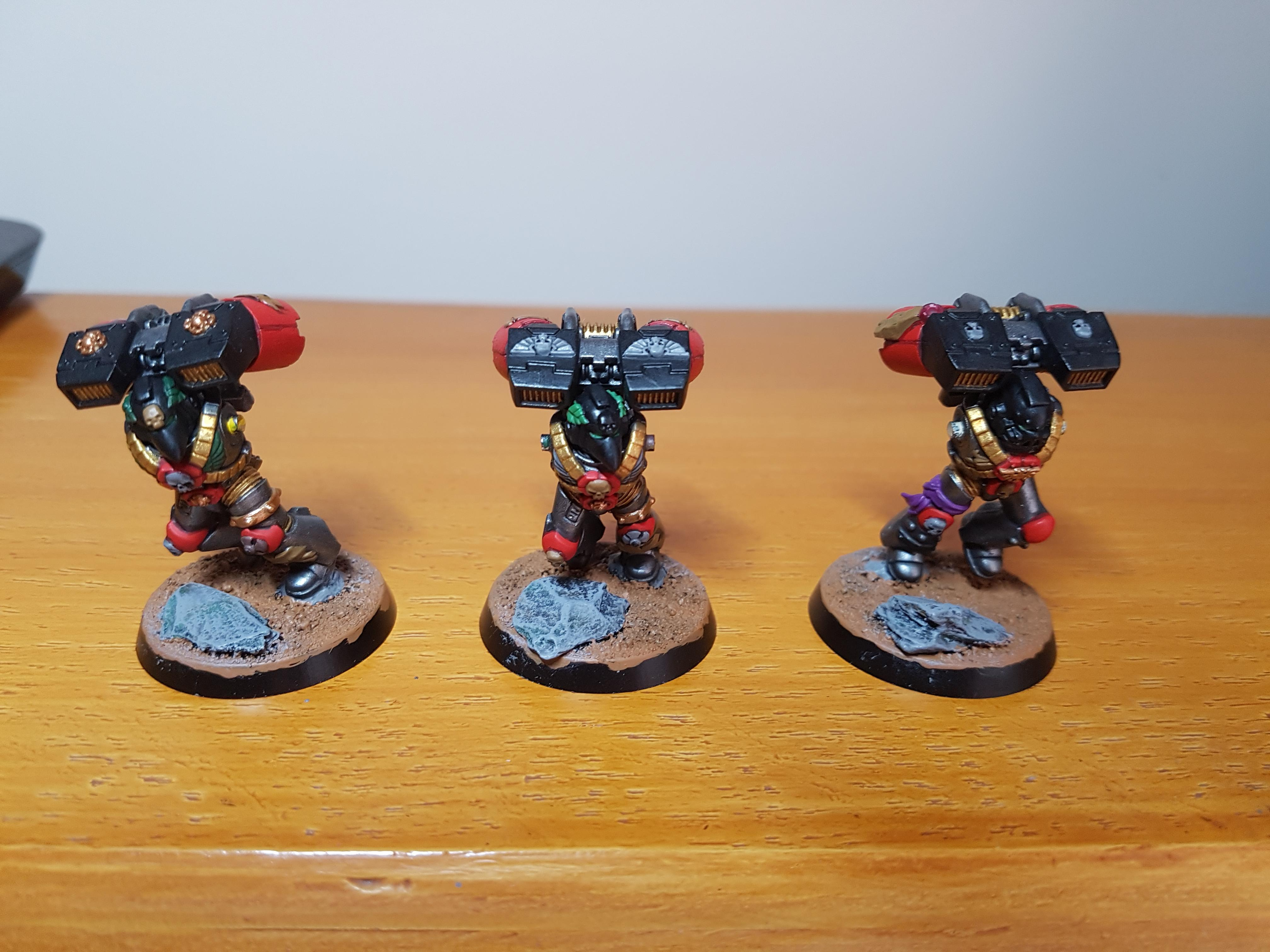 Stark Crusaders, Vanguard Veterans