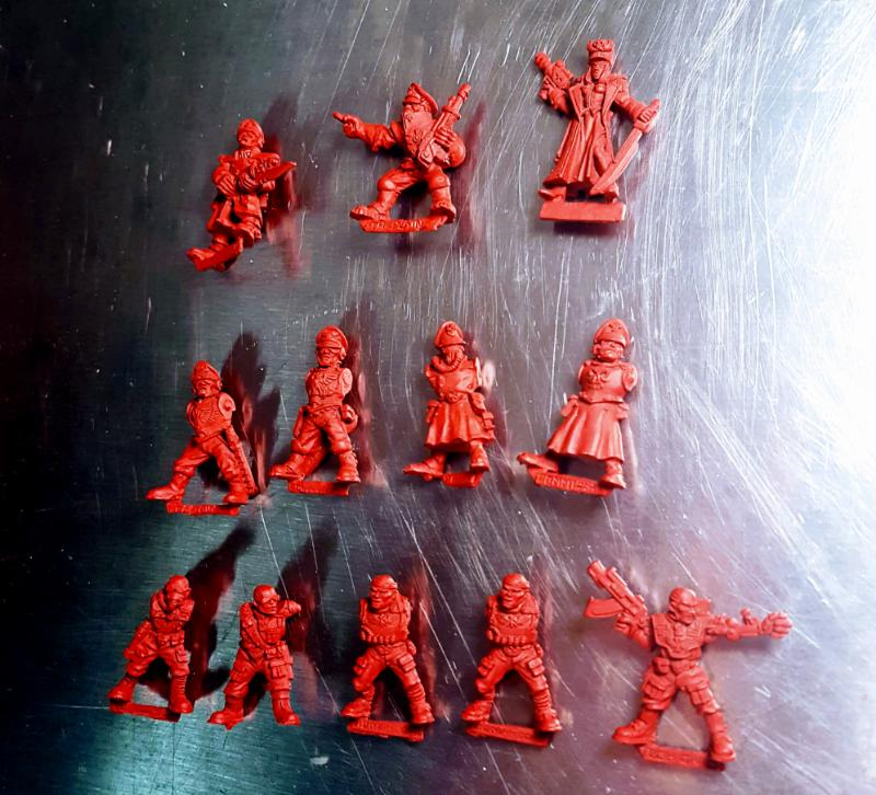 Commissar, Oldhammer, Out Of Production, Rogue Trader, Tech Gang ...