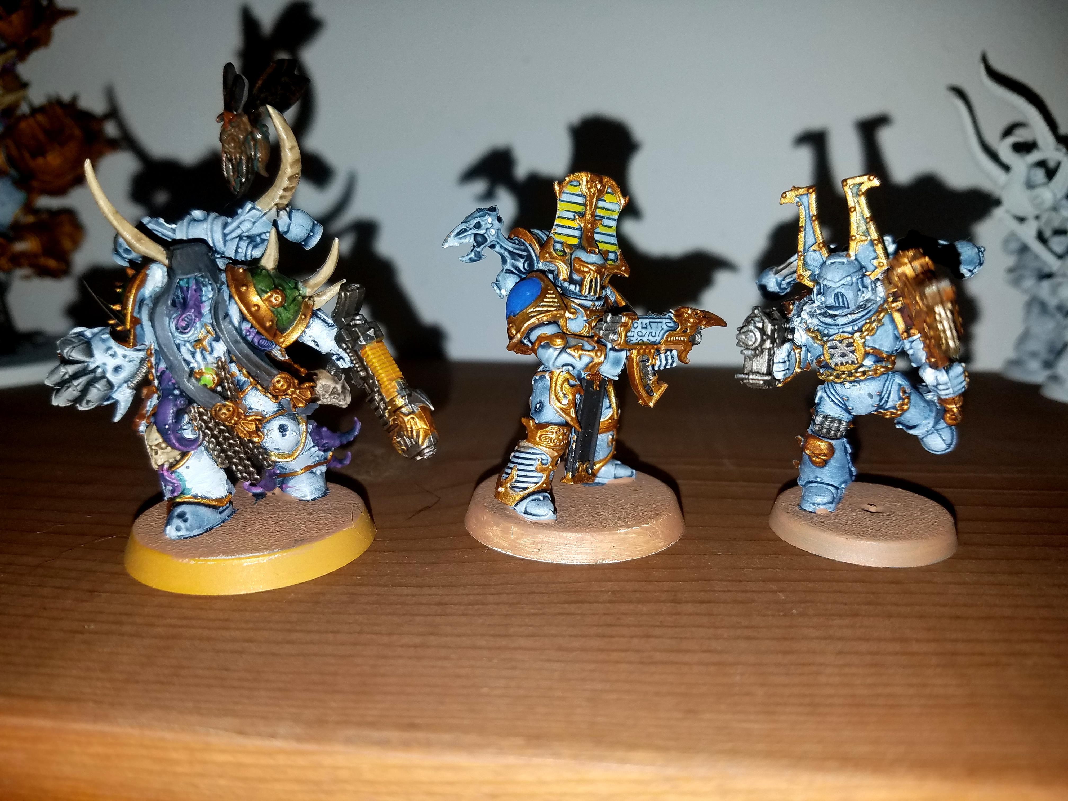 Berserkers, Plague Marines, Rubric, Thousand Sons