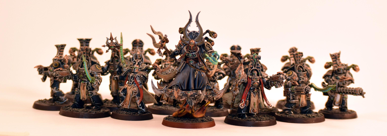 Ahriman, Rubric Marines, Scarab Occult Terminators, Thousand Sons