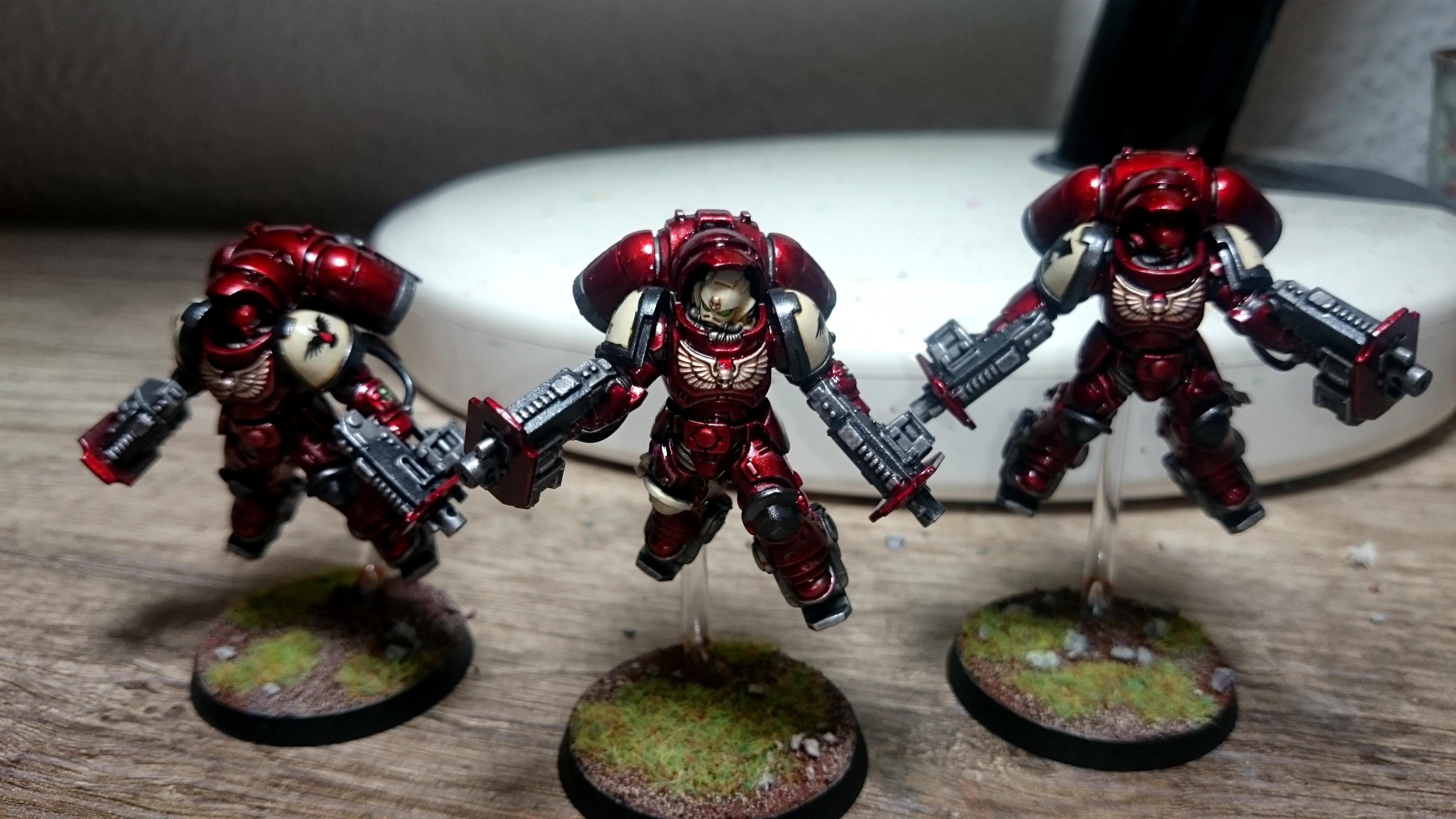 Blood Ravens, Inceptors, Primaris, Space Marines, Warhammer 40,000