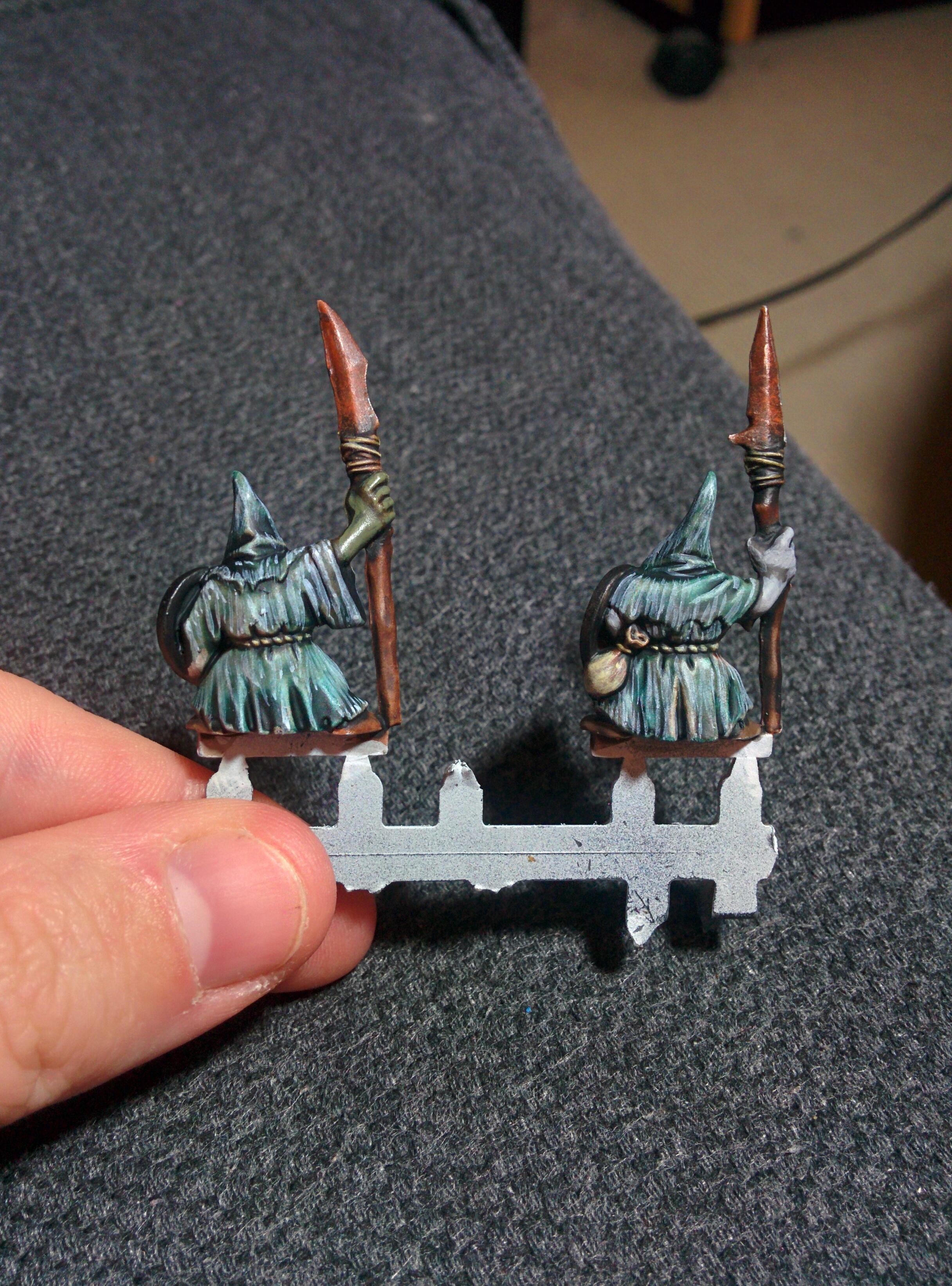 Giaks, Goblins, One Of Those Old Starter Sets I Think But Bugger If I Can Remember Which One, Test Models, Work In Progress, Works In Progress
