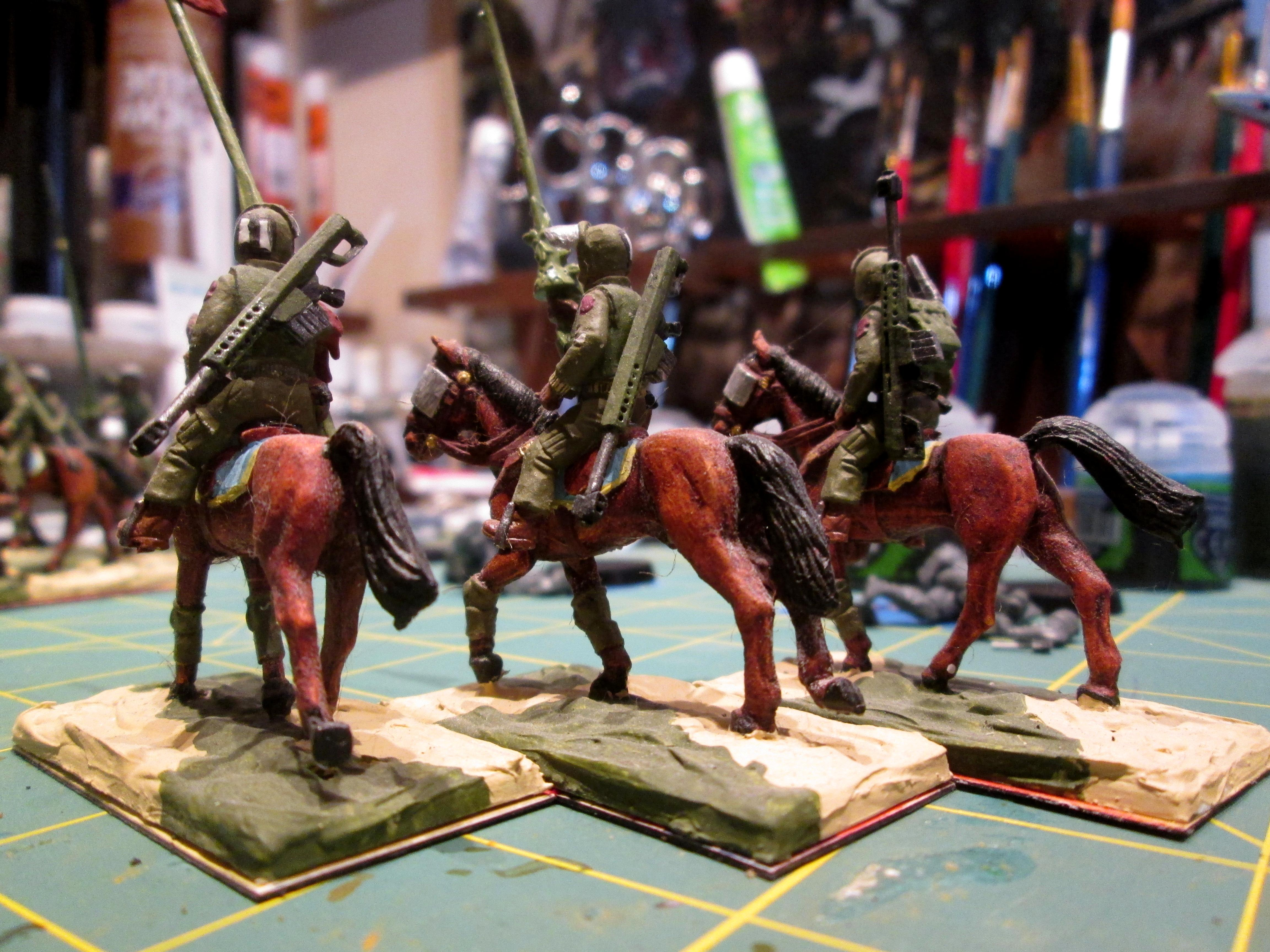 Cavalry, Imperial Guard, Rough Riders