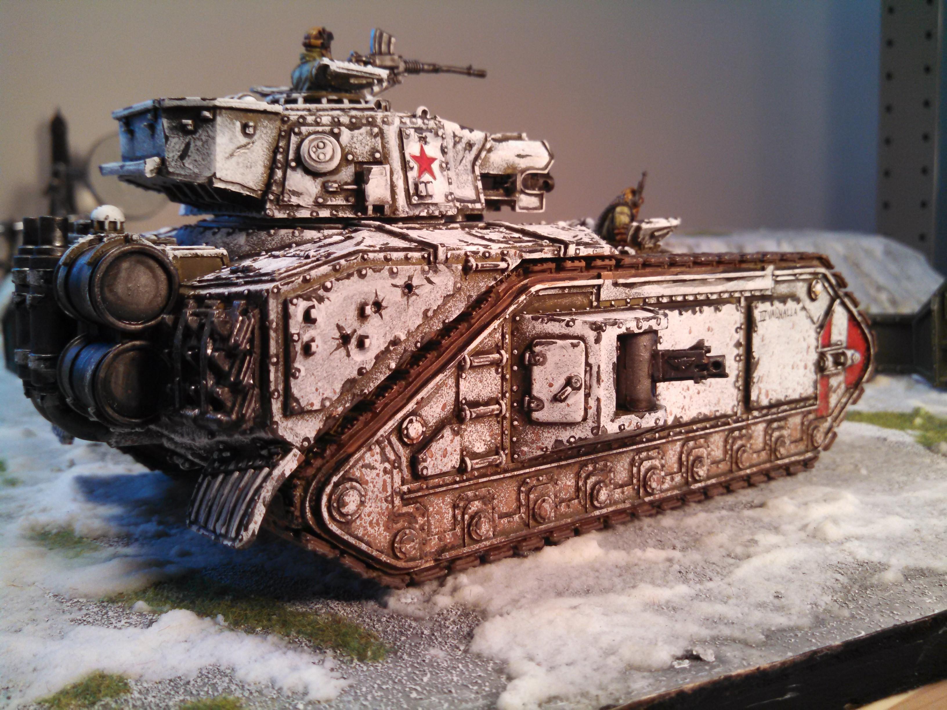Astra Militarum, Imperial Guard, Macharius, Macharius Vulcan, Super-heavy, Tank