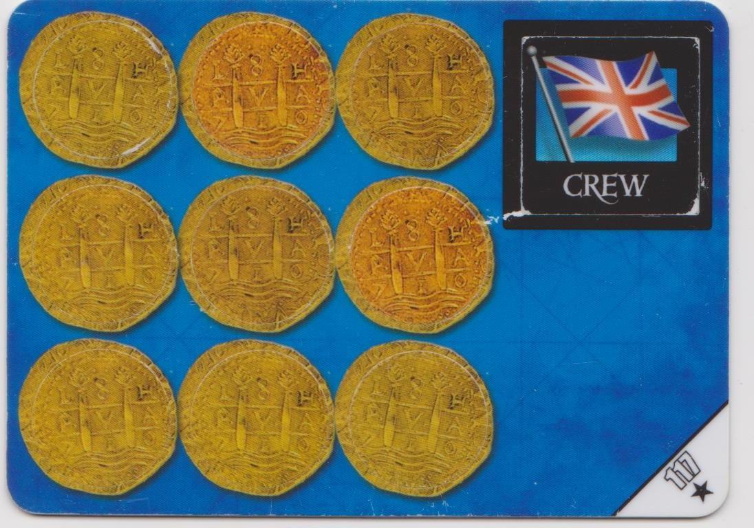 Helmsman , Treasure (4) (British)