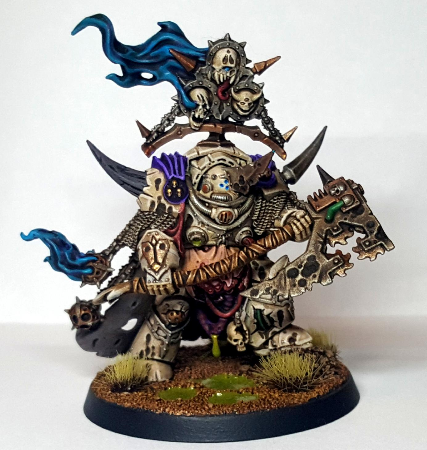 Death Guard, Dg, Lord of Contagion - Front