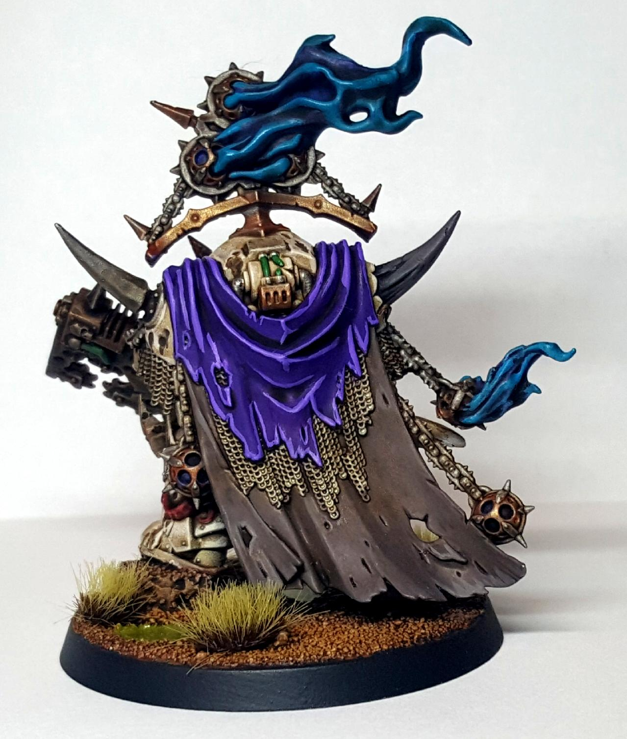 Death Guard, Dg, Lord of Contagion - Back