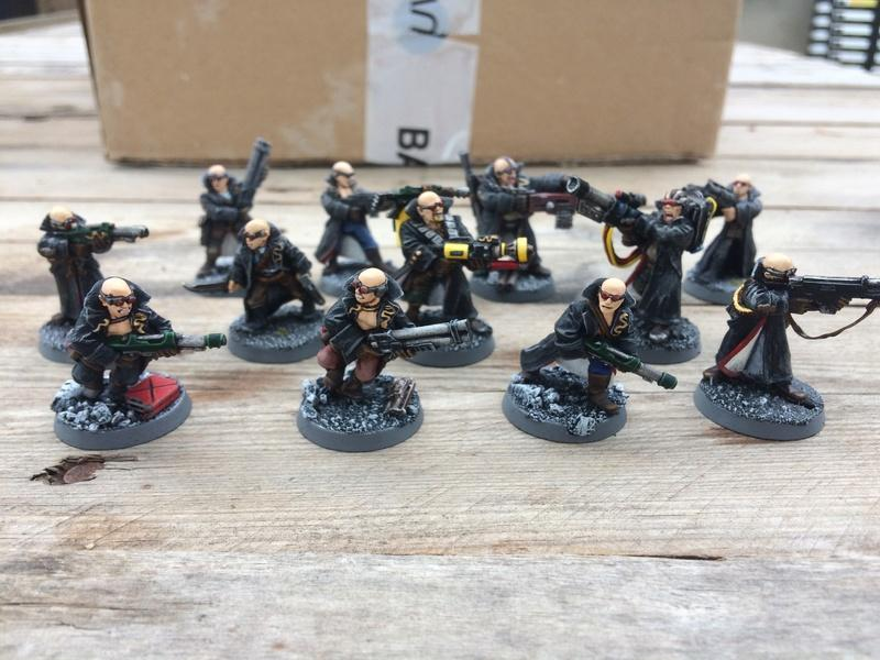 Delaque, Necromunda, Delaque - Men In Black - Front