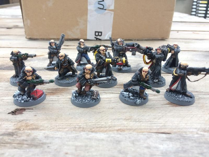 Delaque, Necromunda, Delaque - Men In Black - Back