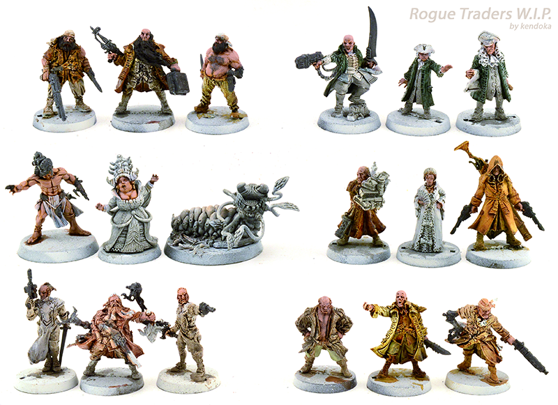 Conversion, Dark Heresy, Inq28, Inquisitor, Reaper, Rogue Traders