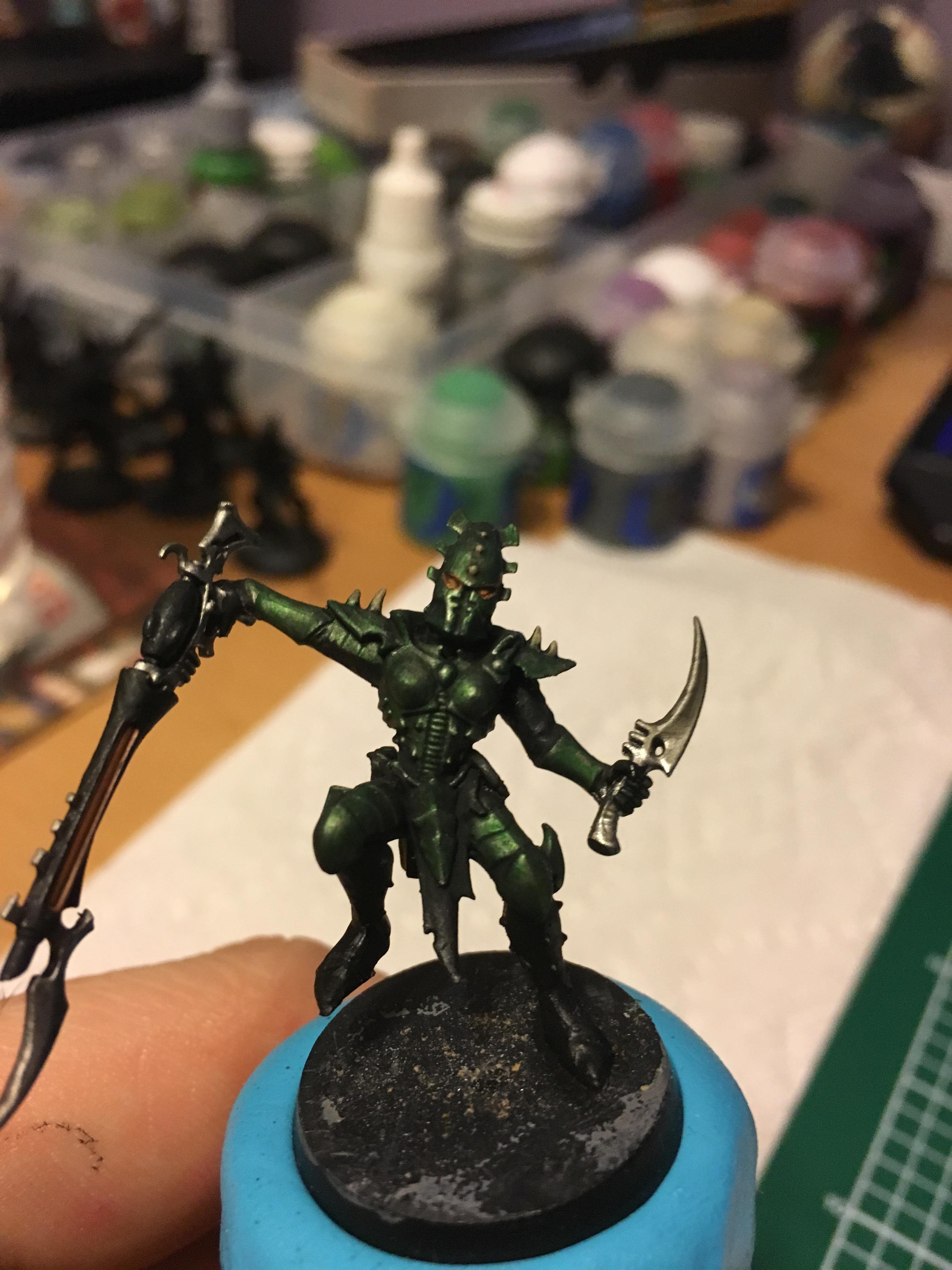 Aeldari, Dark Eldar, Eldar, Green, Kab, Kabalite Warrior