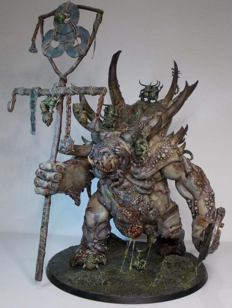 Daemons, Glotkin, Great Unclean One, Guo, Monster, Nurgle